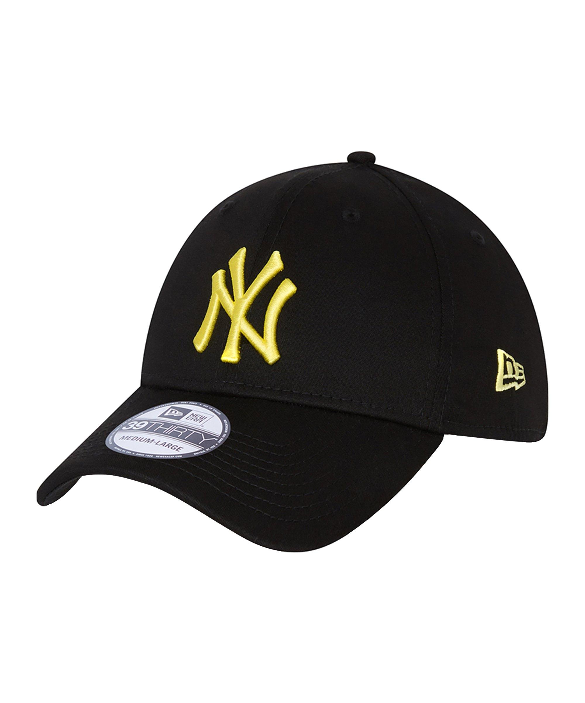 New Era NY Yankees Essential 39Thirty Cap FBLKLMD - schwarz