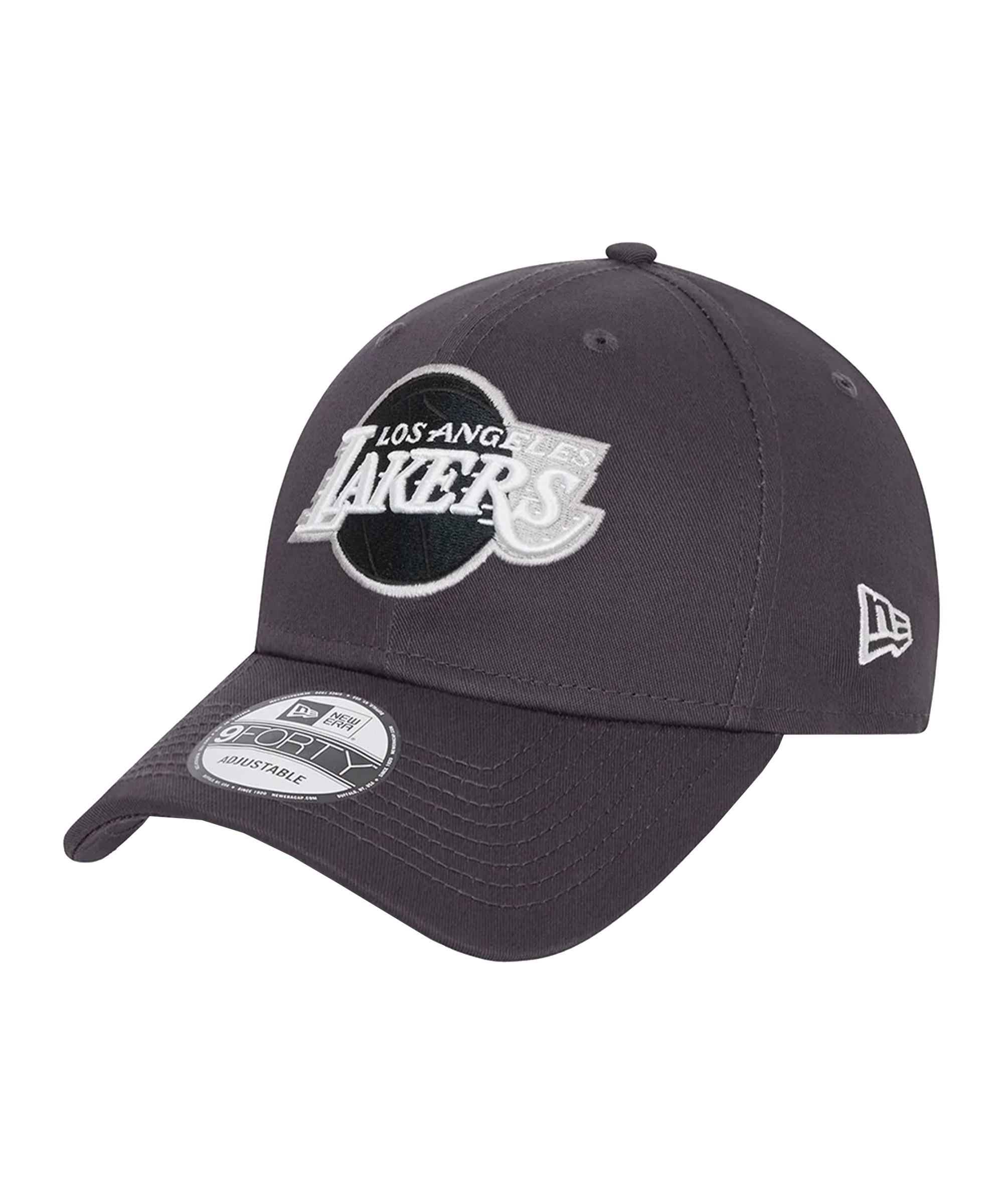 New Era LA Lakers NBA 9Forty Cap Schwarz FGRH - schwarz