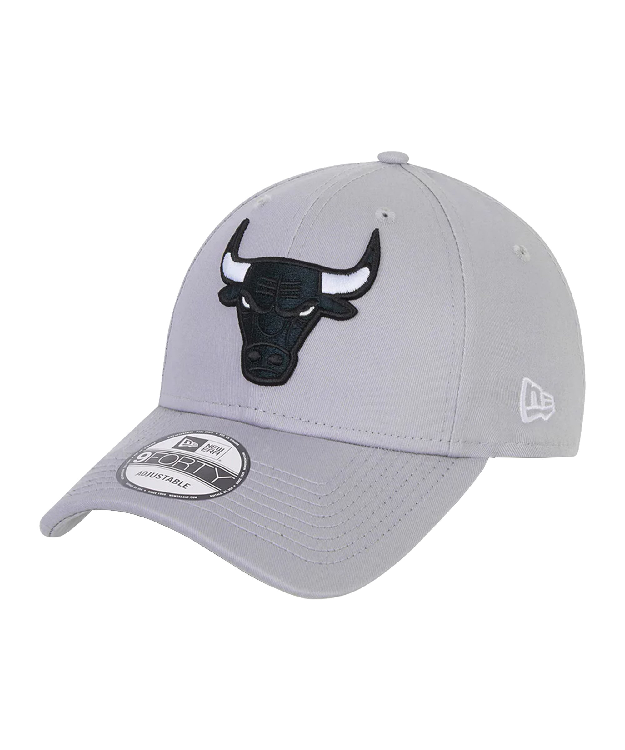 New Era Chicago Bulls NBA 9Forty Cap Grau FGRA - grau