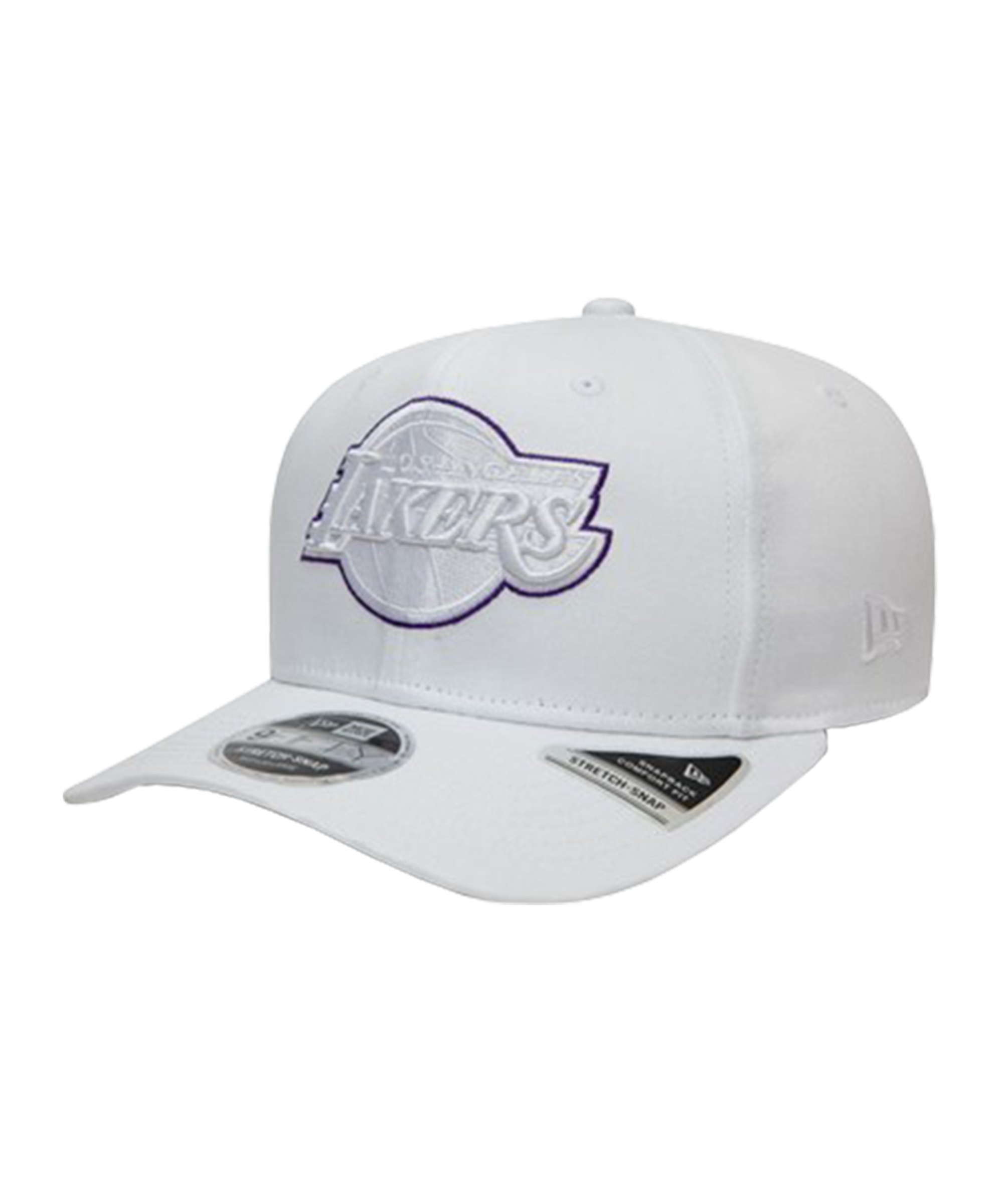 New Era LA Lakers Outline 9Fifty Cap Weiss FWHI - weiss