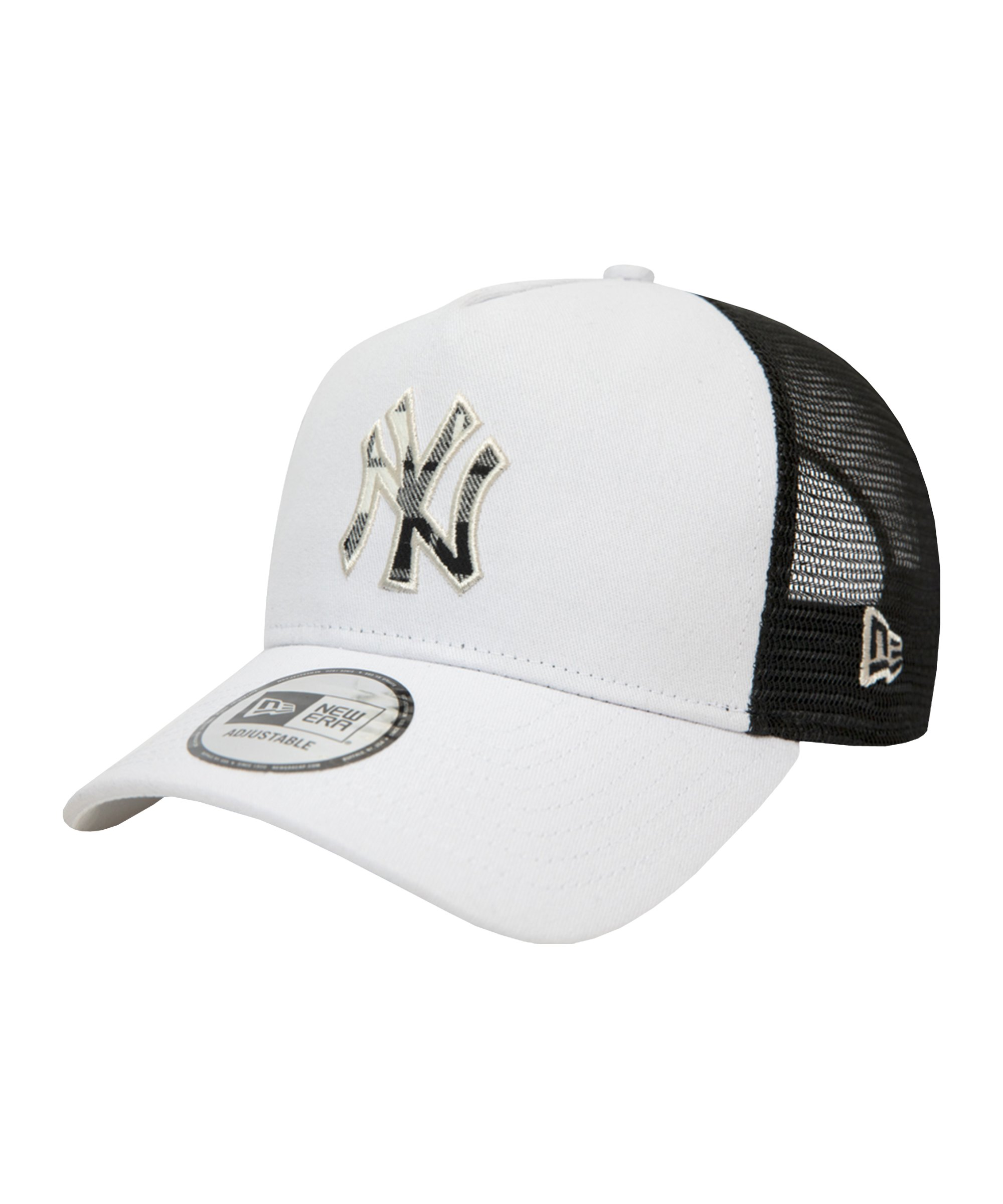 New Era NY Yankees Outline Trucker Cap Beige FSTN - beige