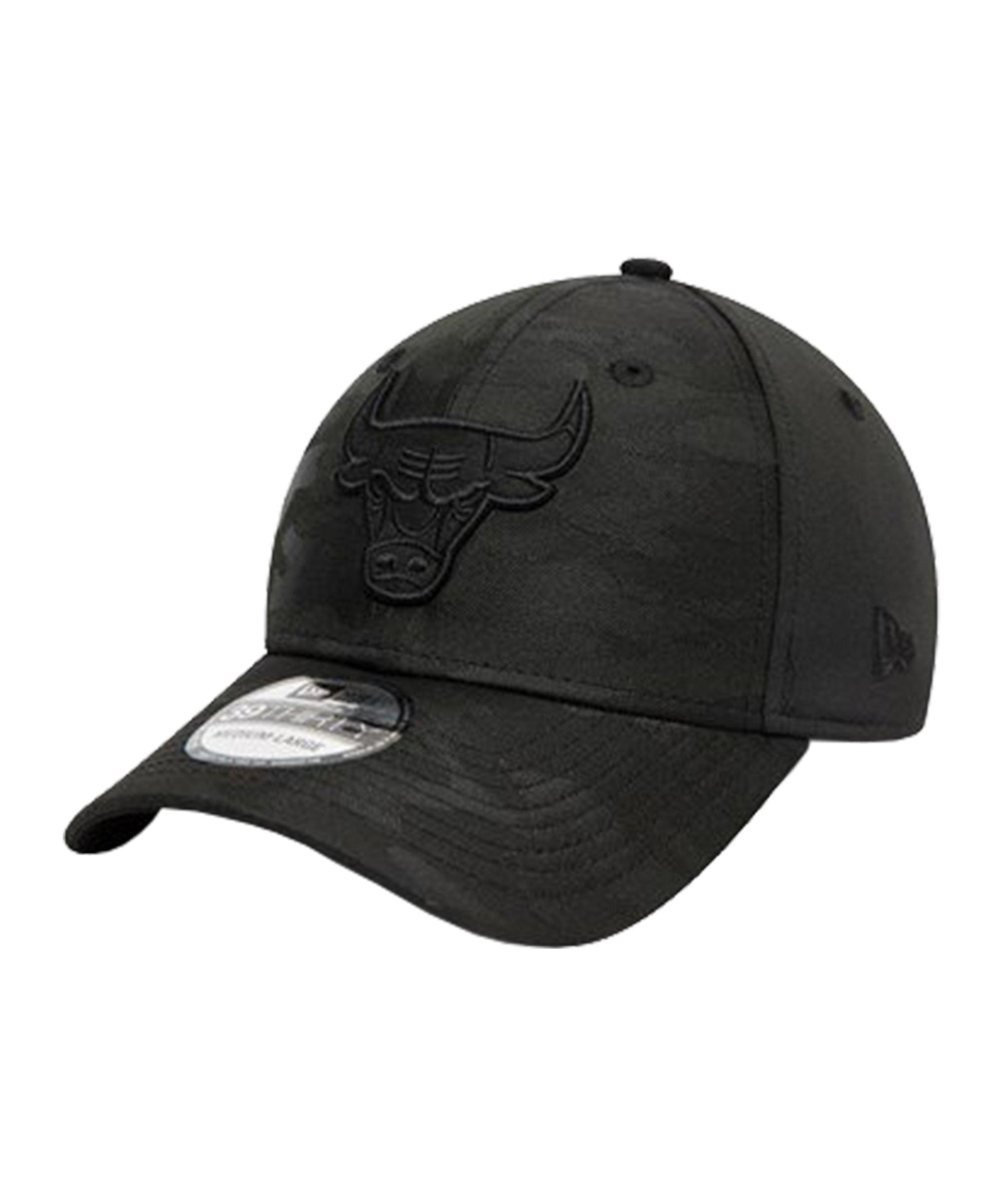 New Era Chicago Bulls Camo 39Thirty Cap FBLK - schwarz