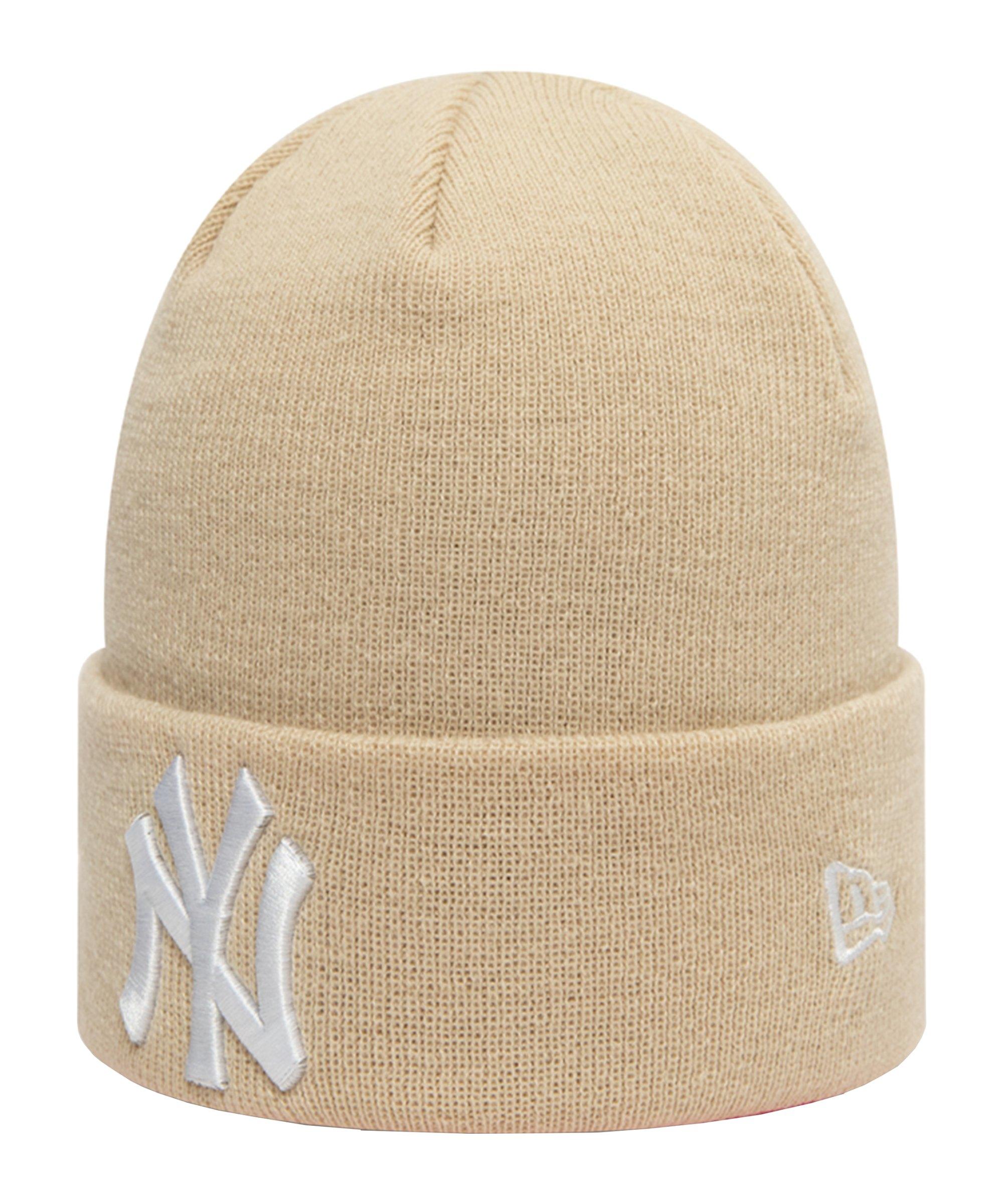 New Era NY Yankees Essential Cuff Mütze FSTN - beige