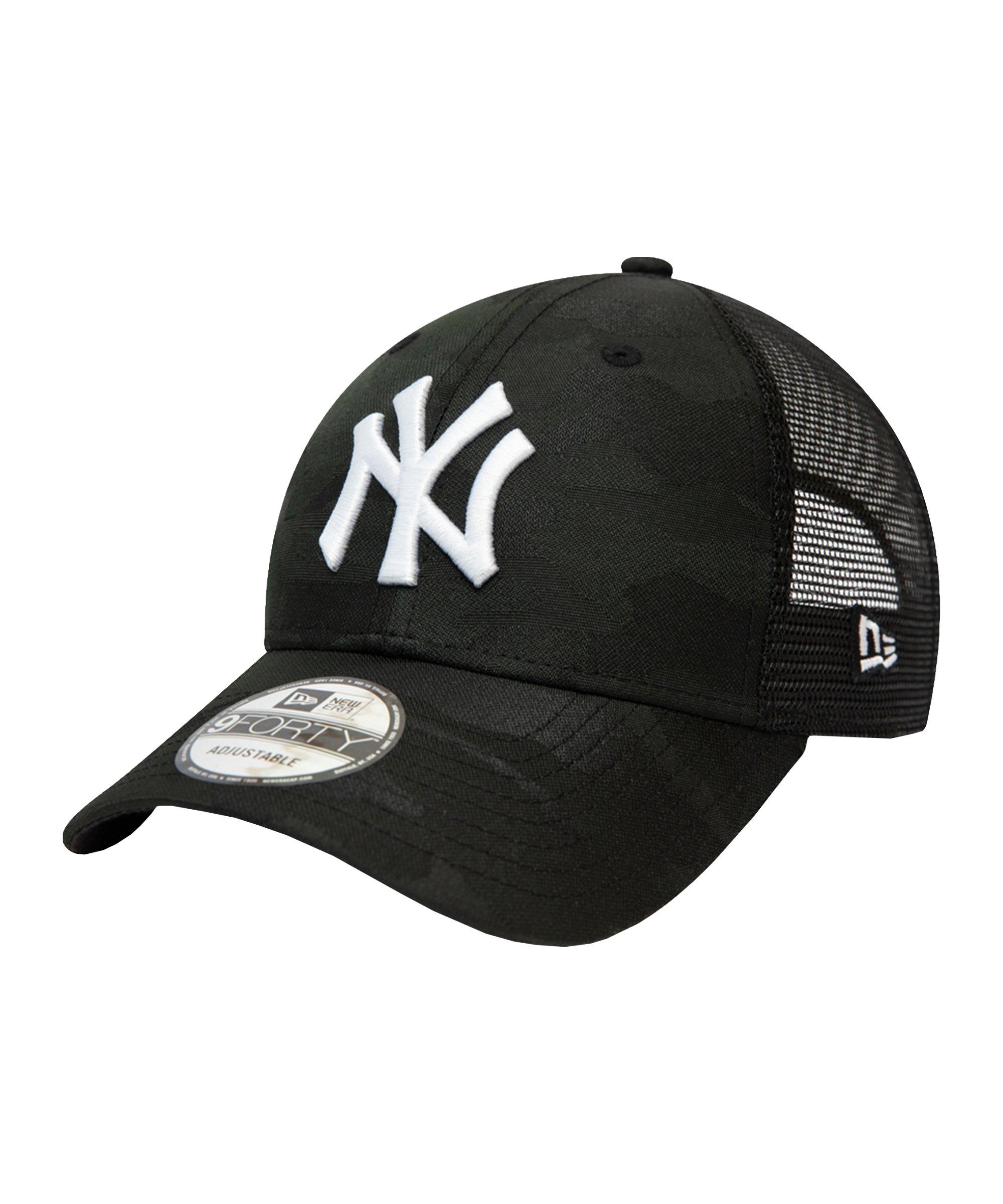 New Era NY Yankees Trucker 9Forty Cap FBLKWHI - schwarz