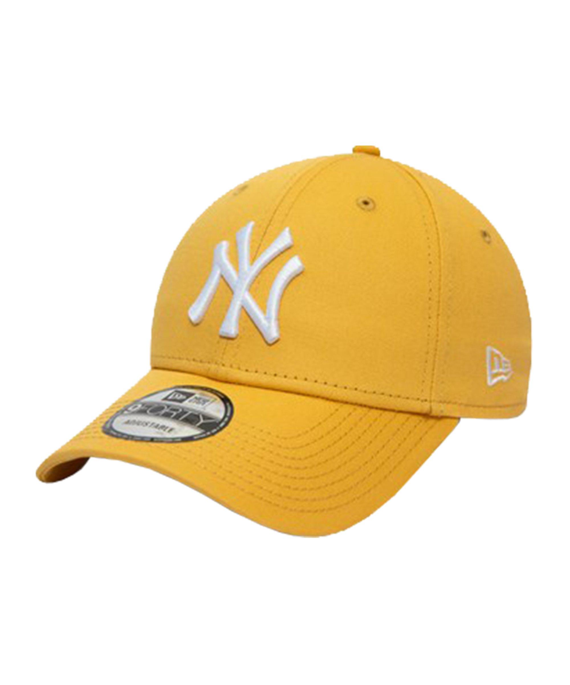 New Era NY Yankees Essential 9Forty Cap Gelb FCSP - gelb