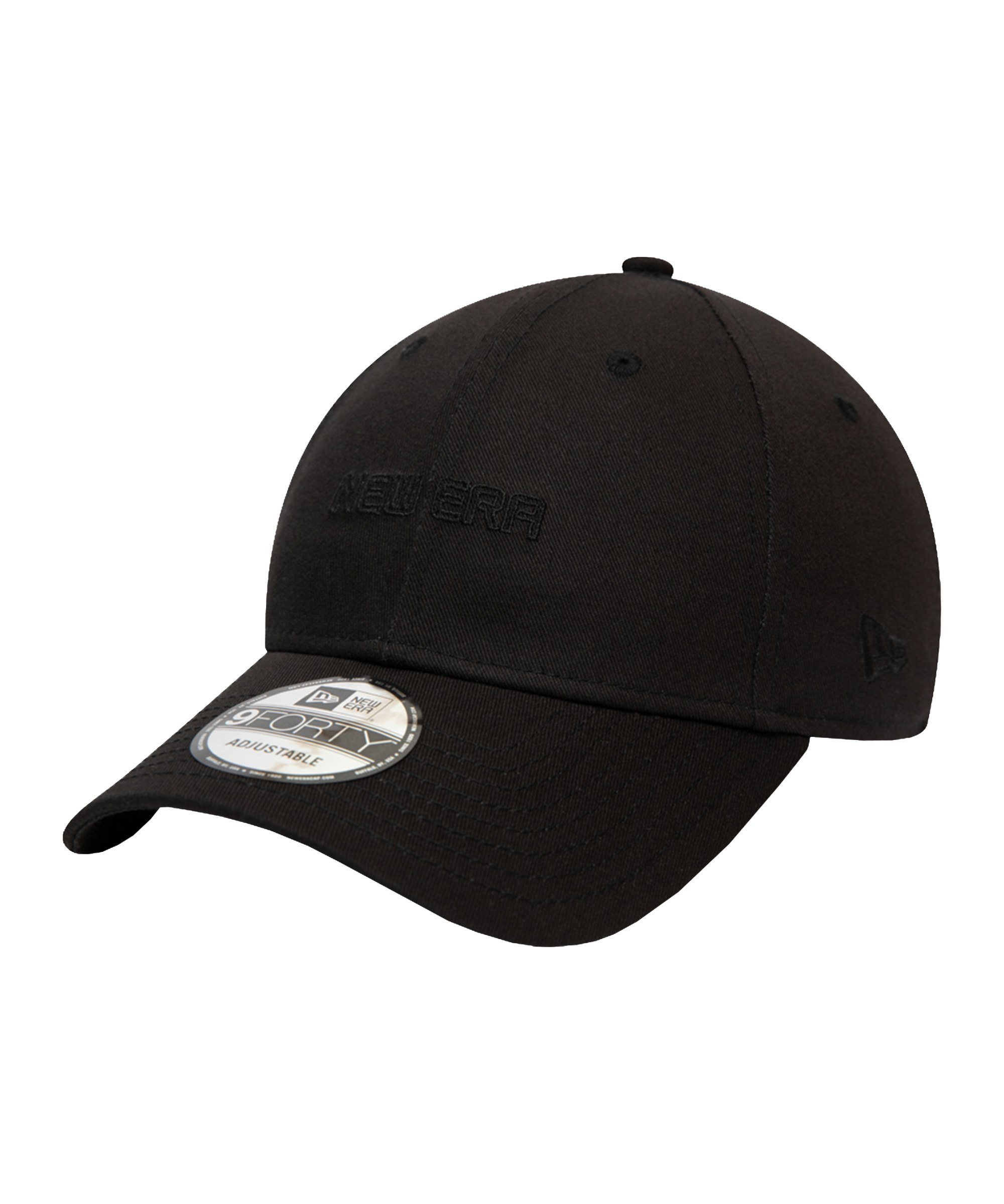 New Era Essential 9Forty Cap Schwarz FBLK - schwarz