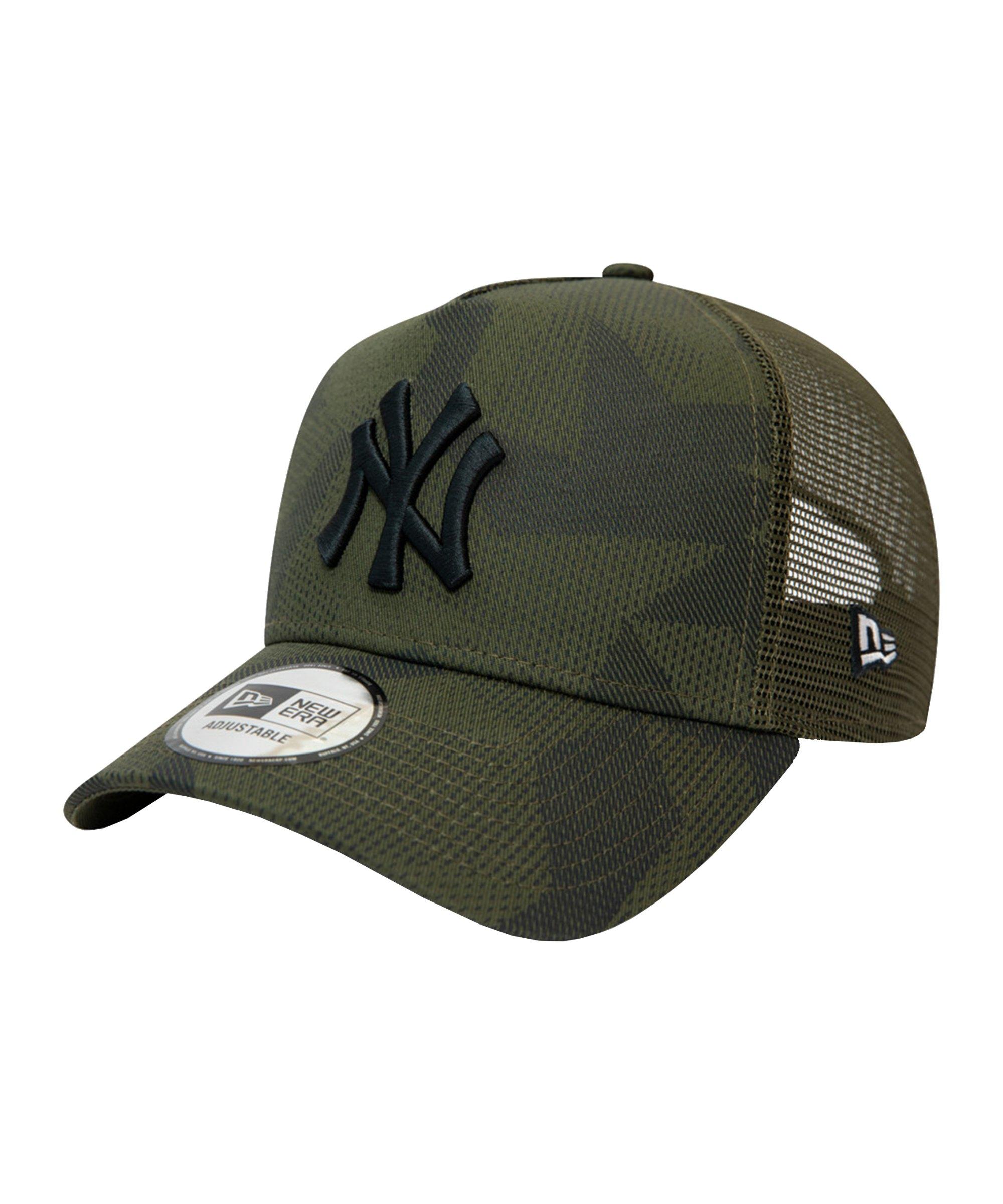 New Era NY Yankees Camo Trucker Cap FNOV - gruen