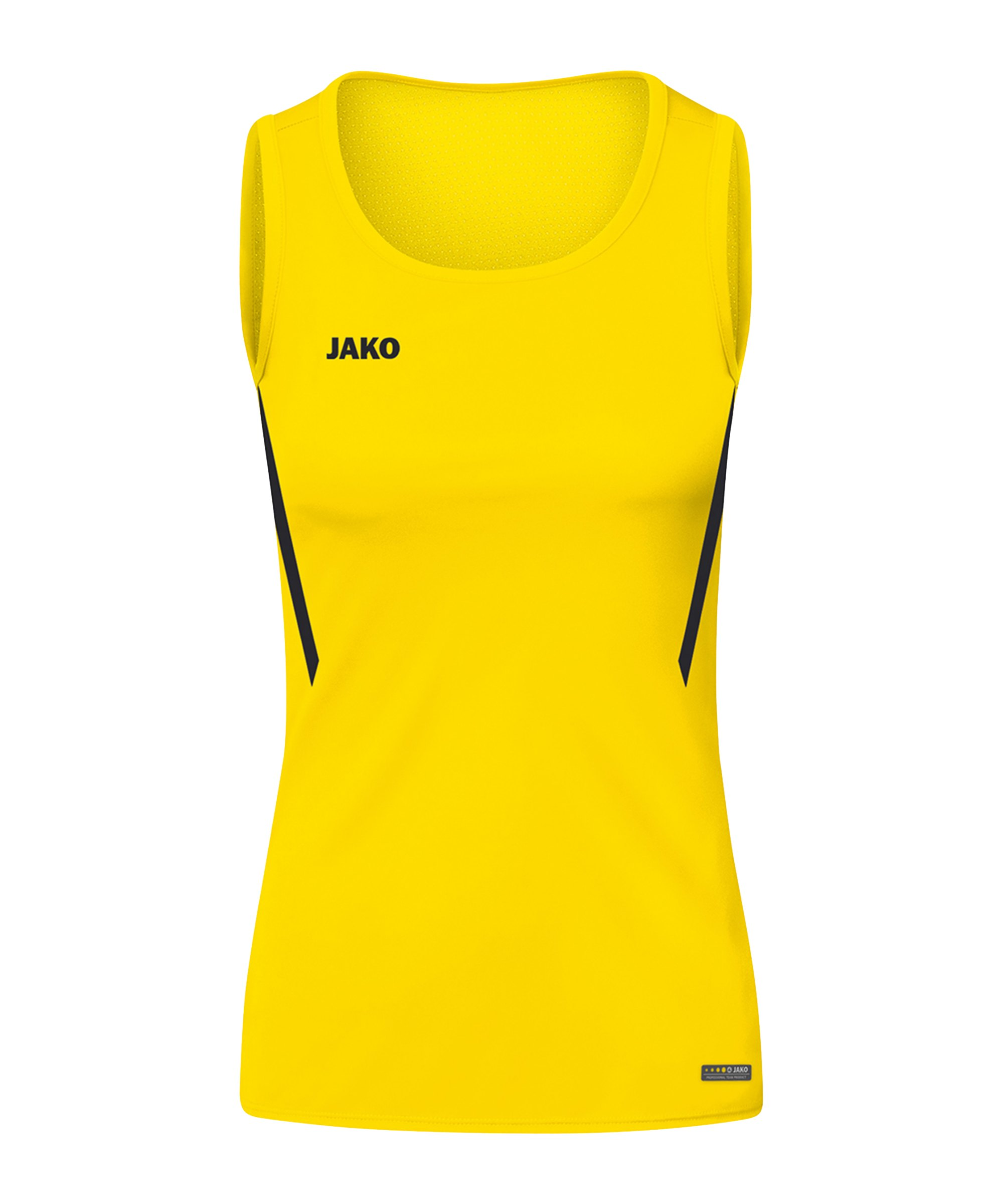 JAKO Challenge Tanktop Damen Gelb Schwarz F301 - gelb