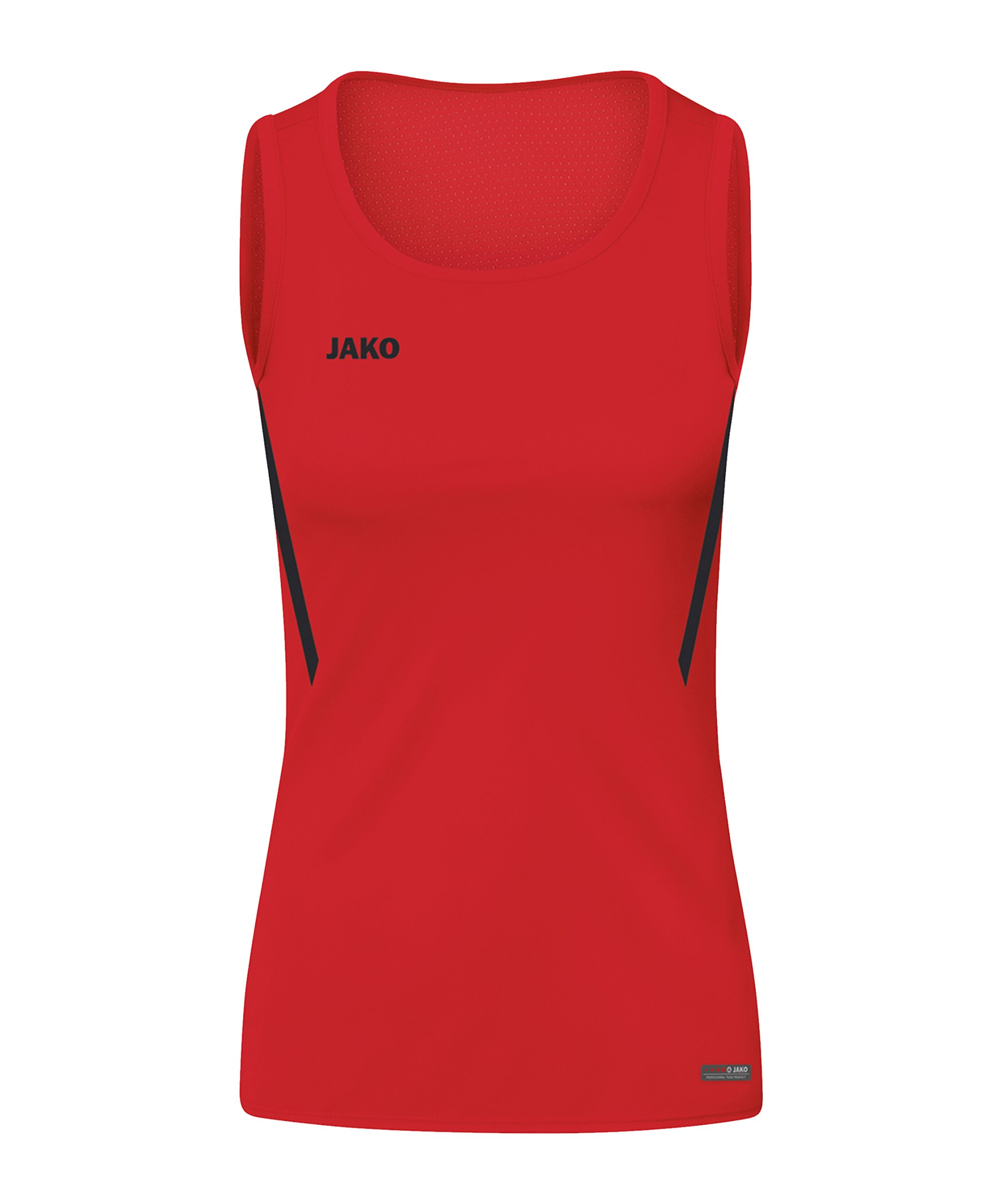 JAKO Challenge Tanktop Damen Rot Schwarz F101 - rot