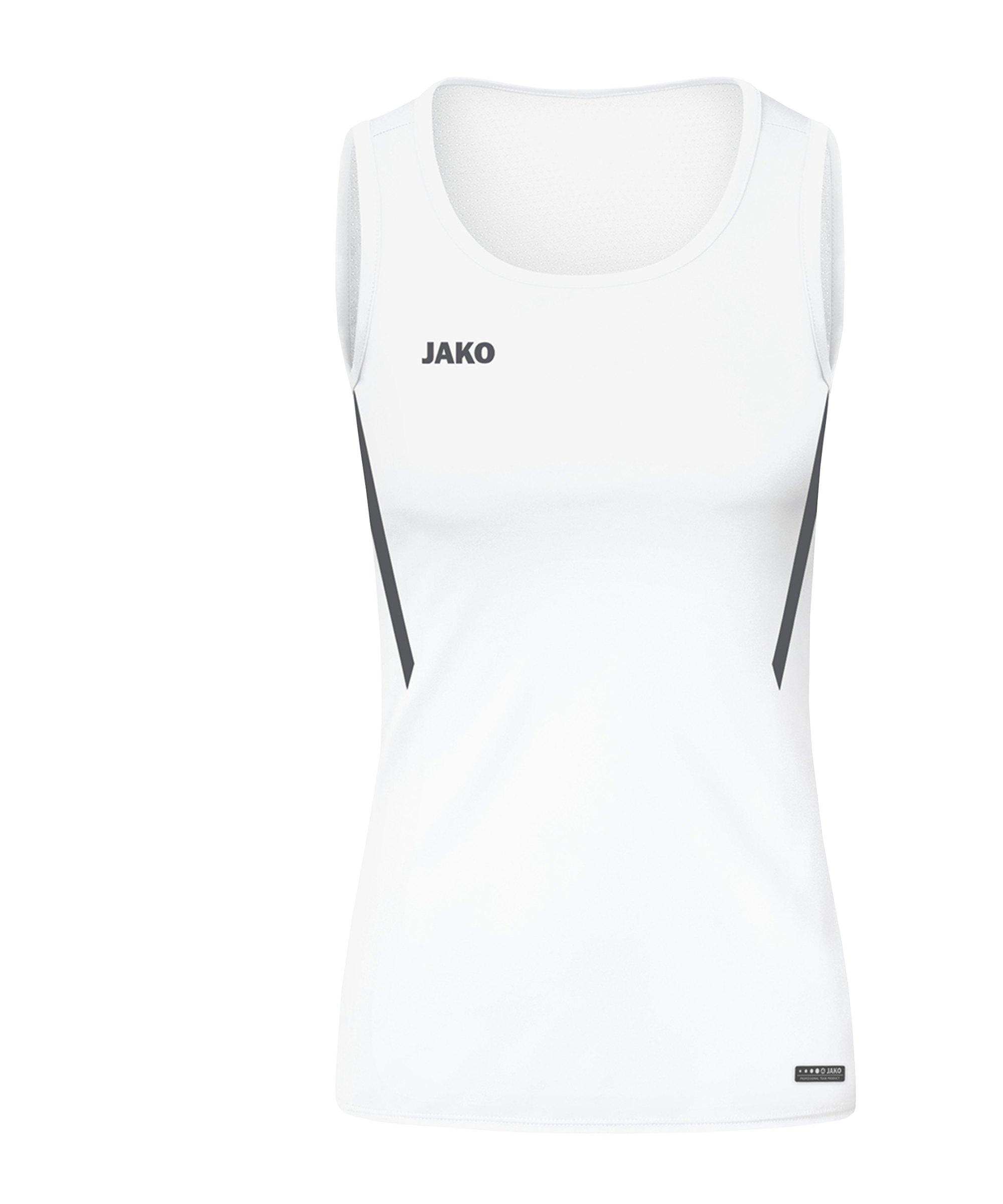 JAKO Challenge Tanktop Damen Weiss F002 - weiss