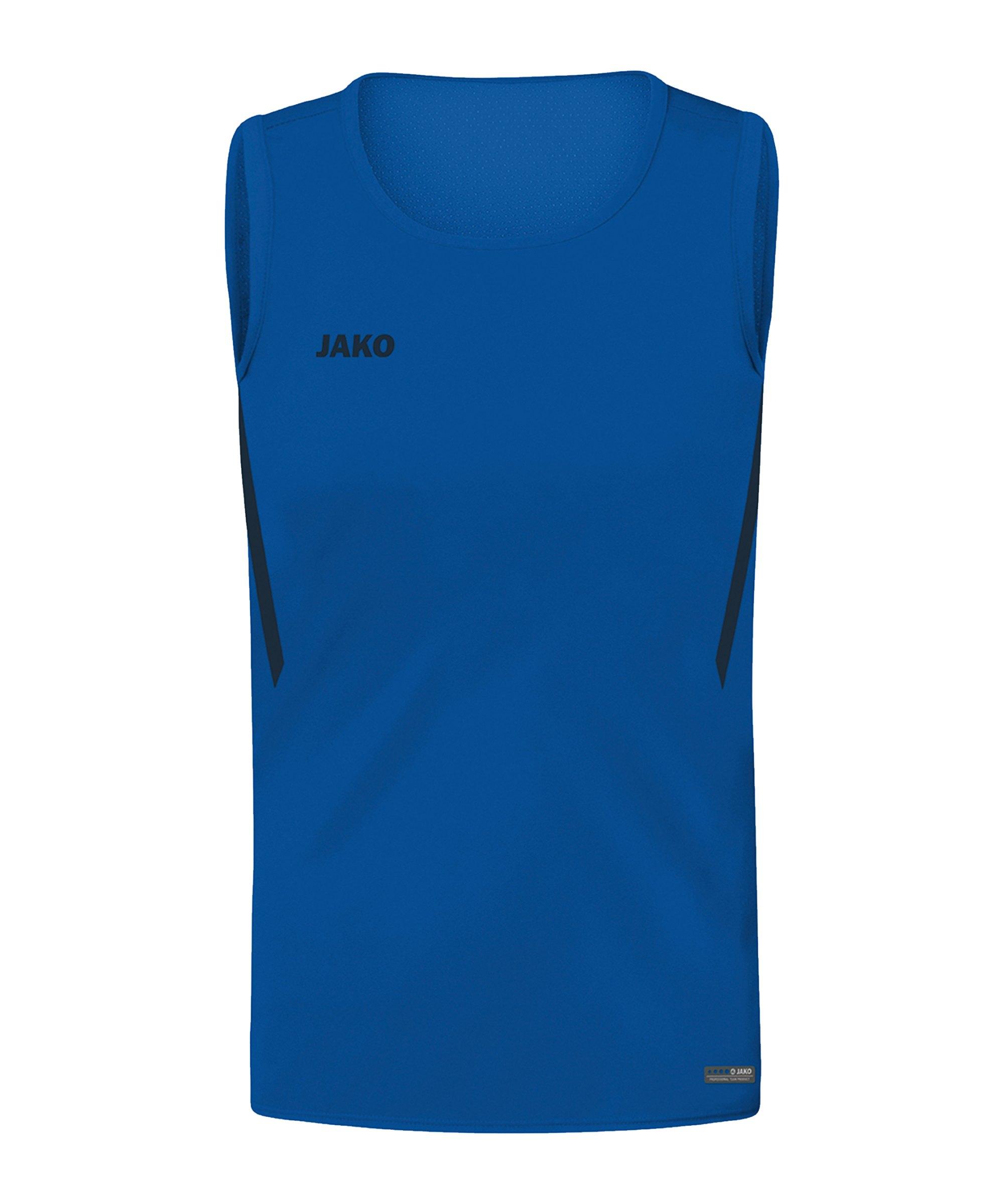 JAKO Challenge Tanktop Kids Blau F403 - blau