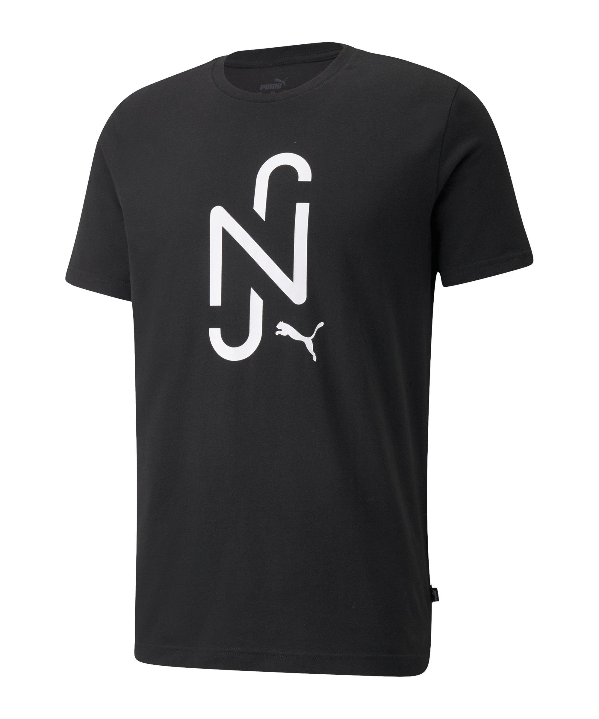PUMA NJR 2.0 Logo T-Shirt Schwarz F01 - schwarz