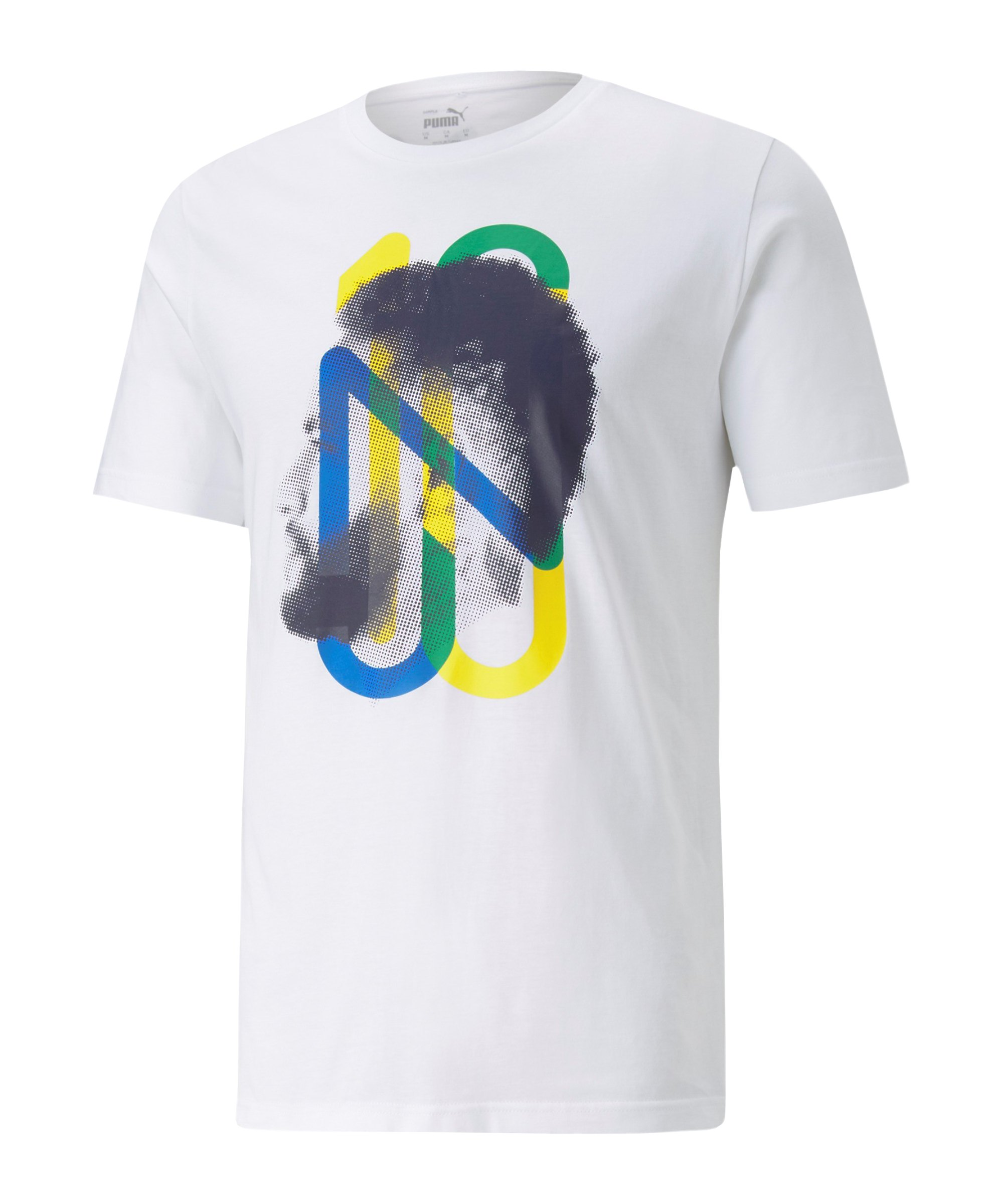 Puma Neymar JR Future T-Shirt Weiss F41 - weiss