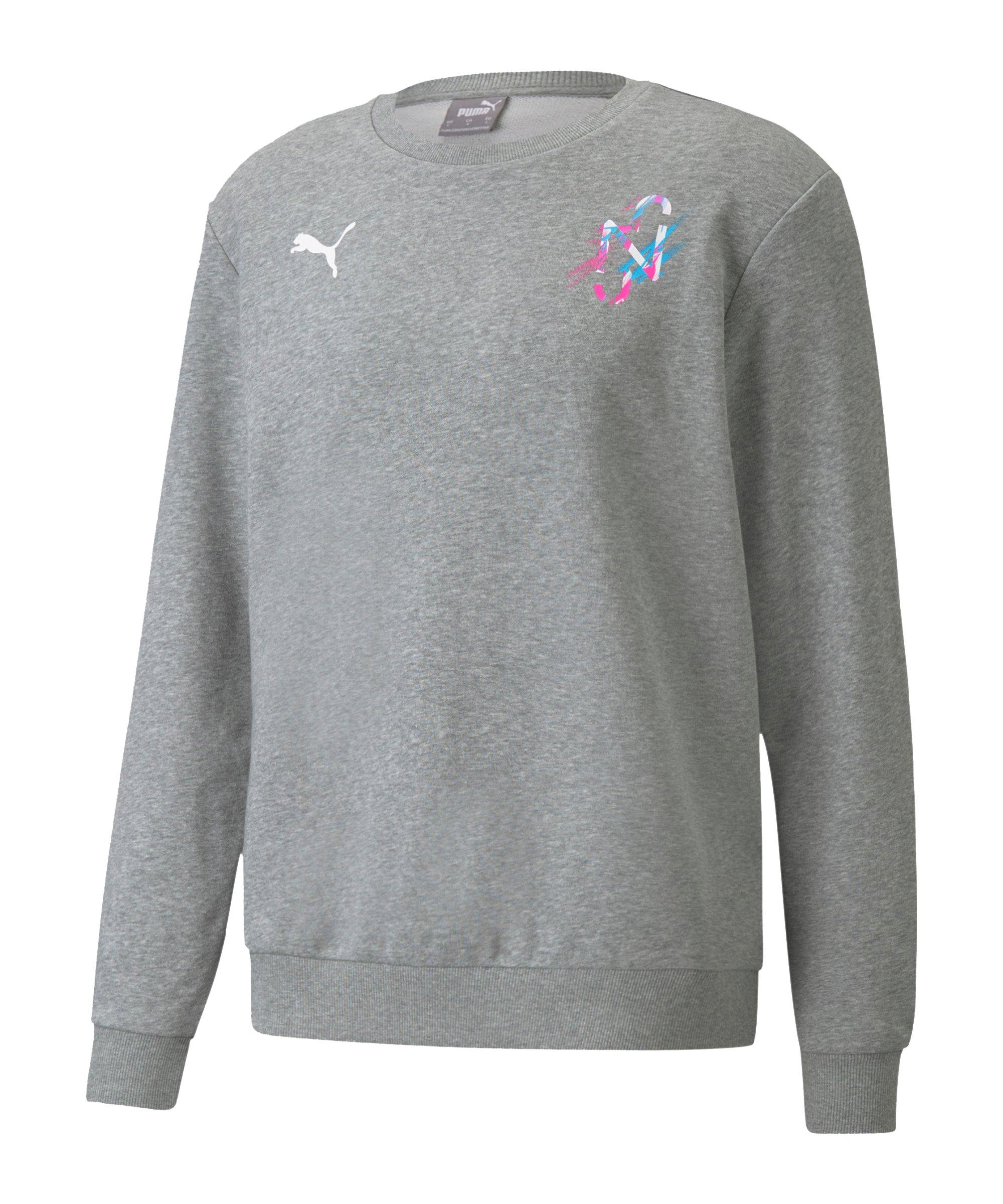 PUMA NJR CREATIVITY Sweatshirt Grau F06 - grau
