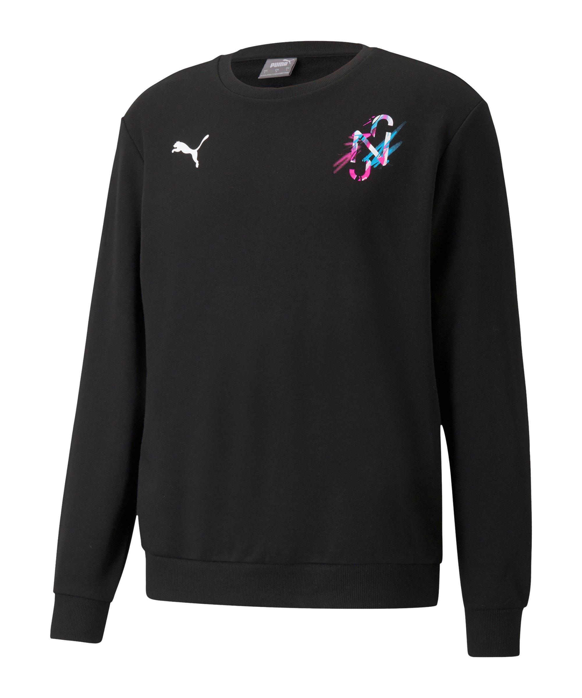 PUMA NJR CREATIVITY Sweatshirt Schwarz F01 - schwarz