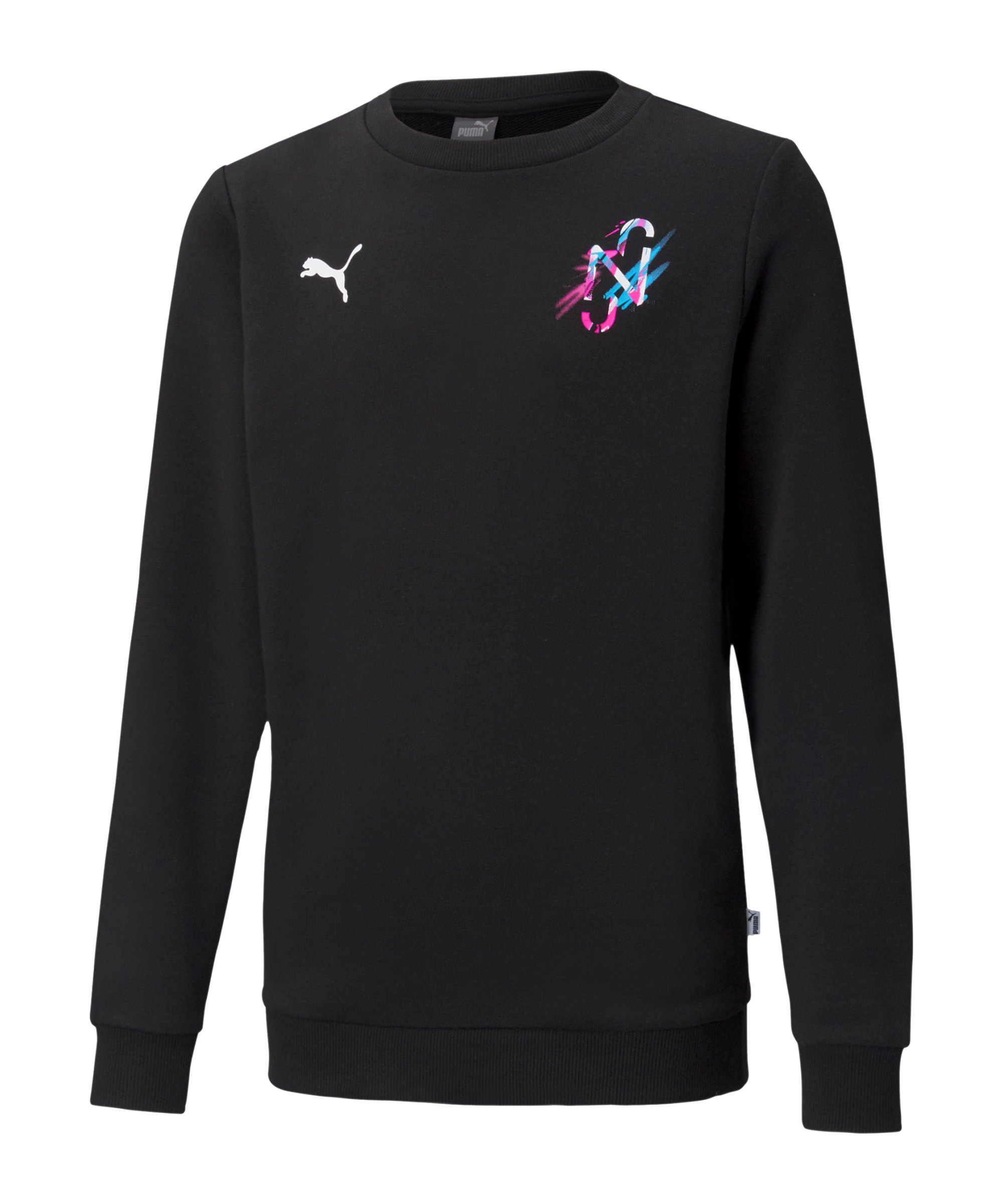 PUMA NJR CREATIVITY Sweatshirt Kids F01 - schwarz