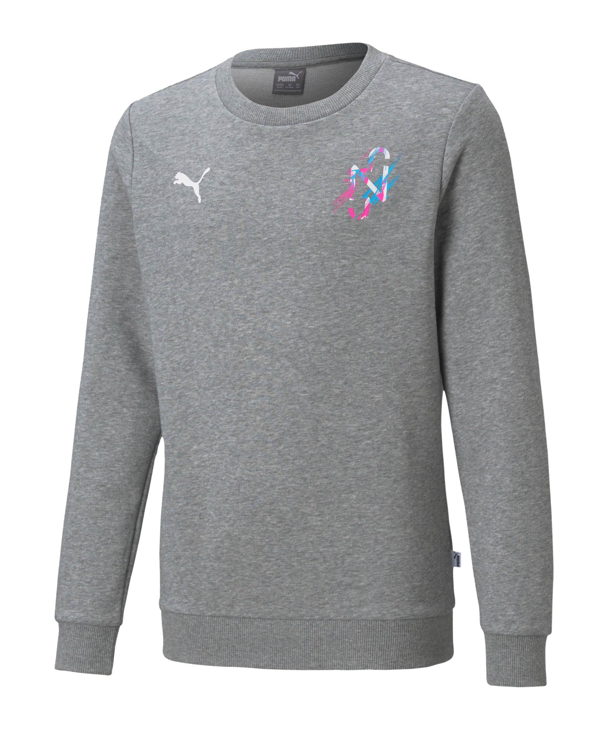 PUMA NJR CREATIVITY Sweatshirt Kids F06 - grau