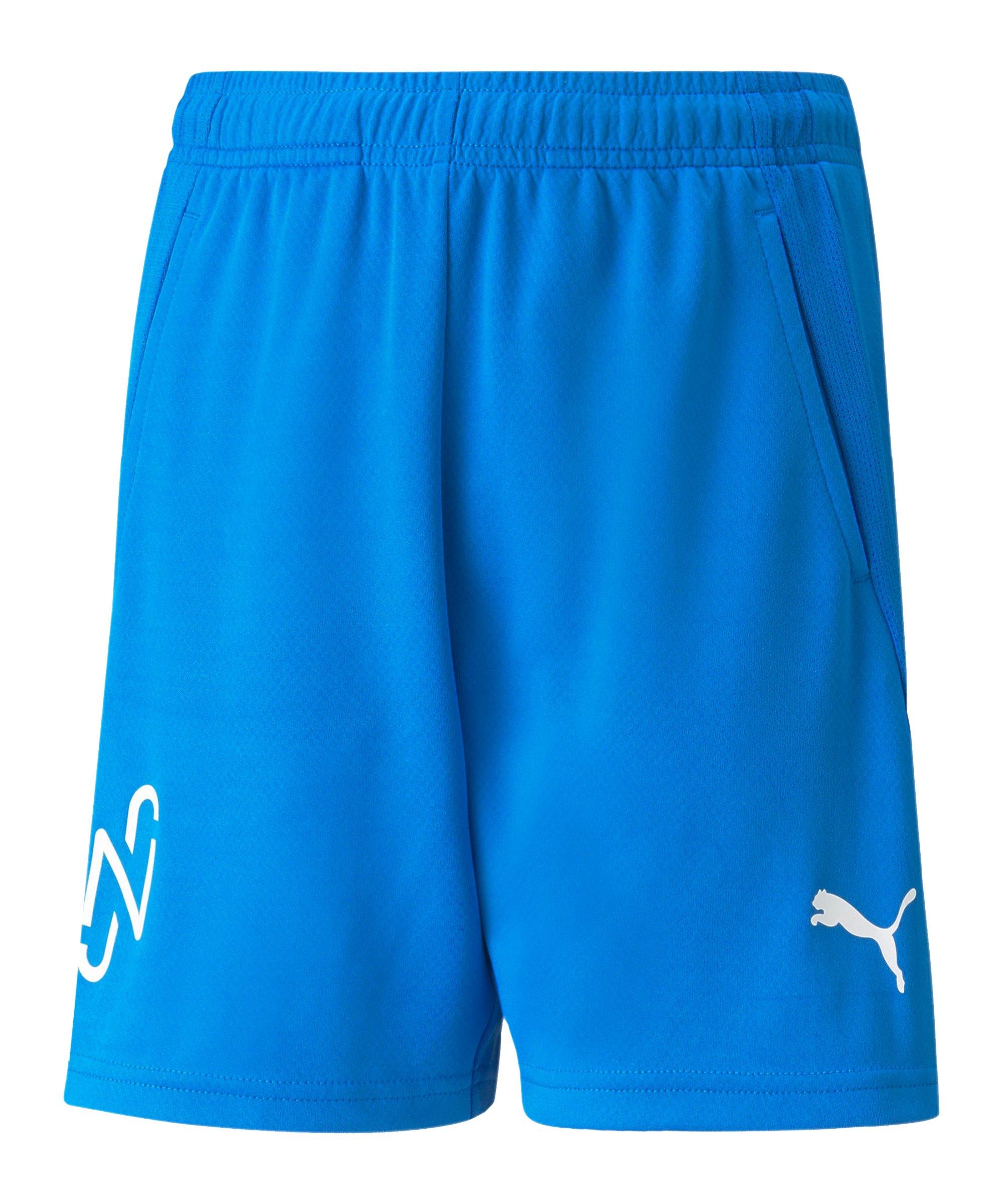 PUMA NJR Copa Short Kids Blau F08 - blau