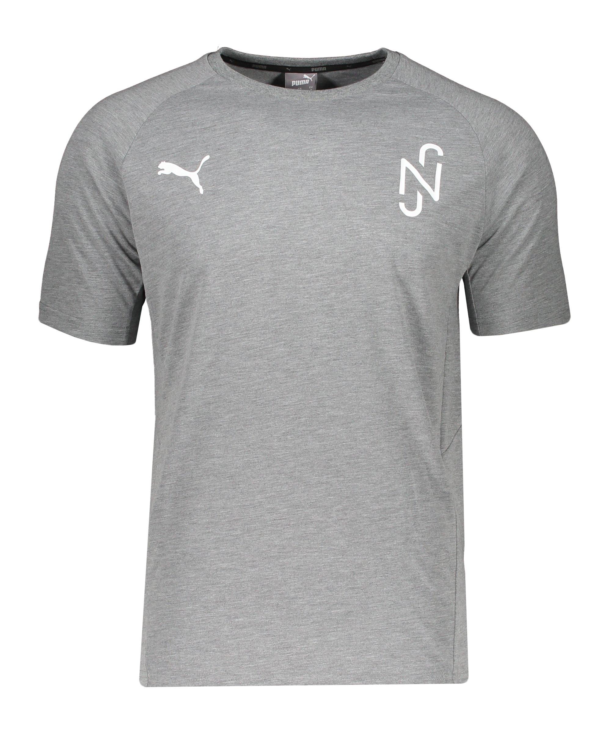 PUMA NJR Evostripe T-Shirt Grau F05 - grau