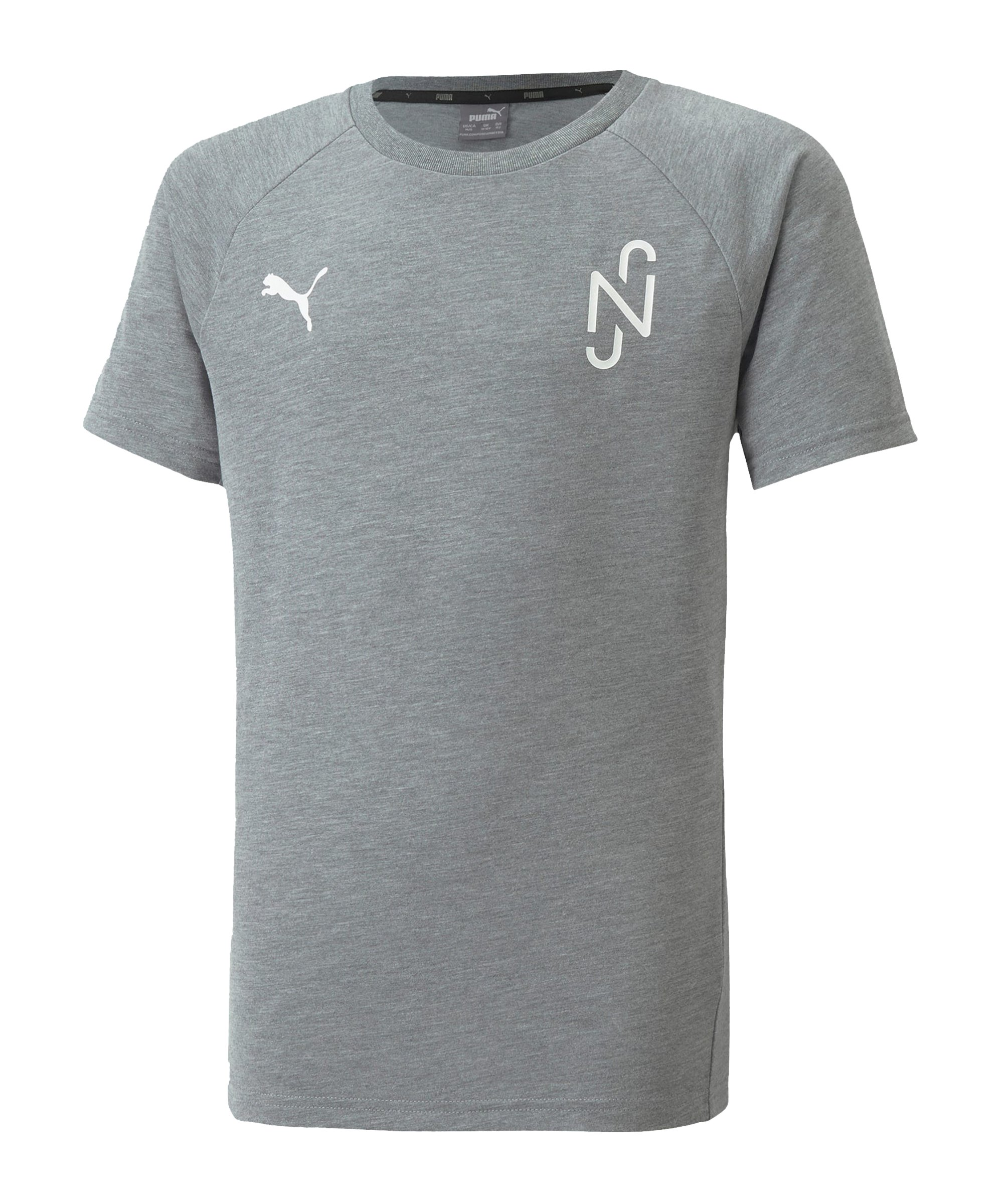 PUMA NJR Evostripe T-Shirt Kids Grau F05 - grau