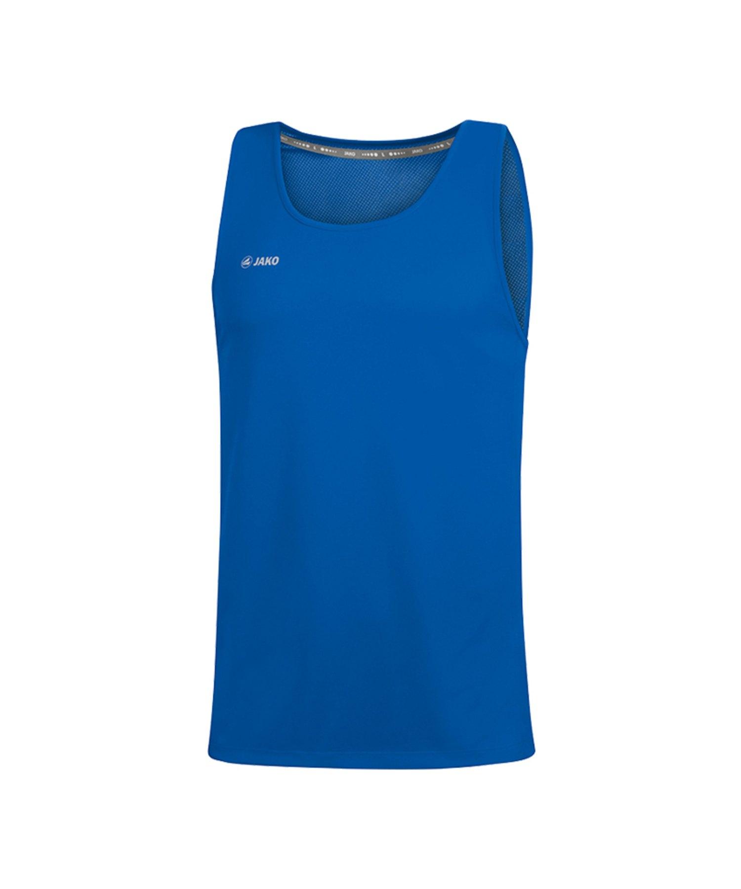 Jako Run 2.0 Tanktop Running Blau F04 - Blau