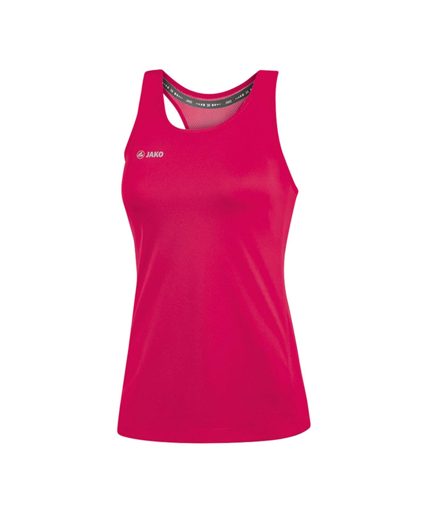 Jako Run 2.0 Tanktop Running Damen Pink F51 - Pink