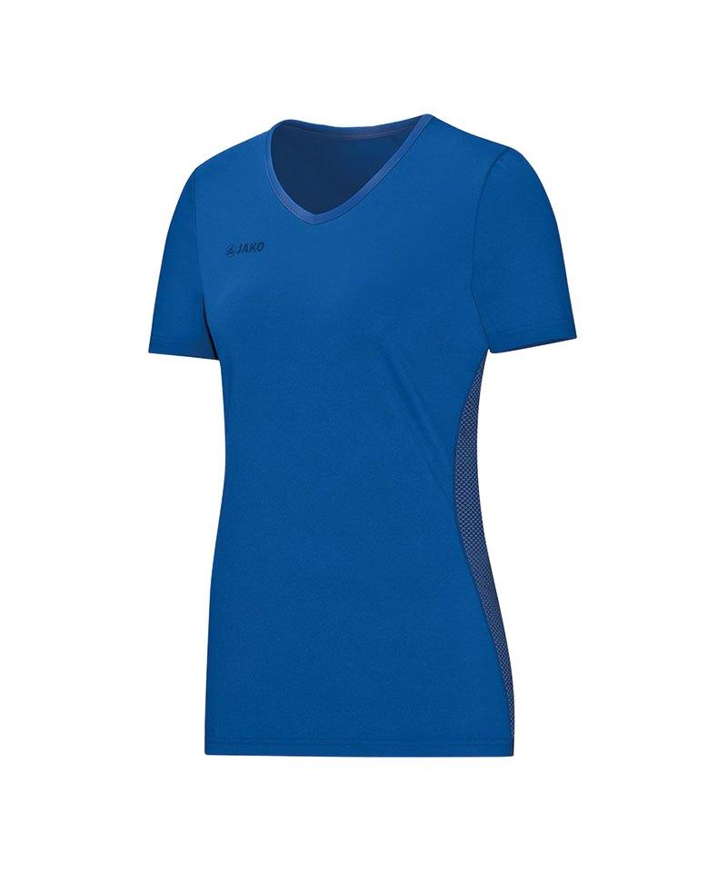 Jako Move T-Shirt Damen Blau F33 - blau