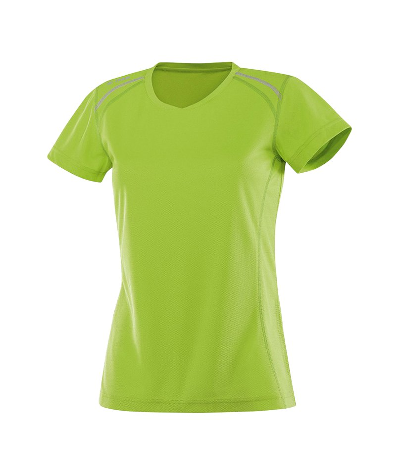 Jako T-Shirt Active Run Damen Grün F22 - gruen