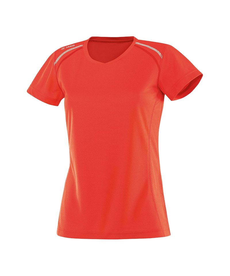Jako T-Shirt Active Run Damen Orange F18 - orange