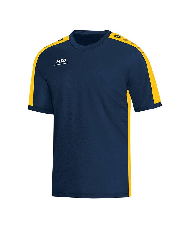 Jako T-Shirt Striker Blau Gelb F42 - blau
