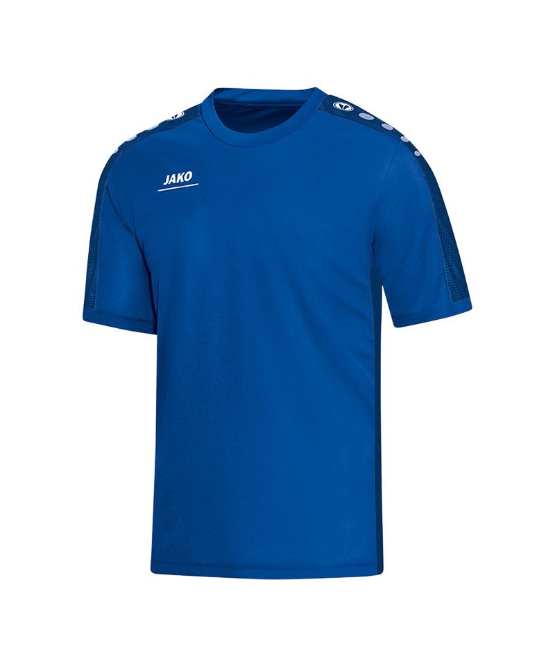 Jako T-Shirt Striker Kinder Blau F04 - blau