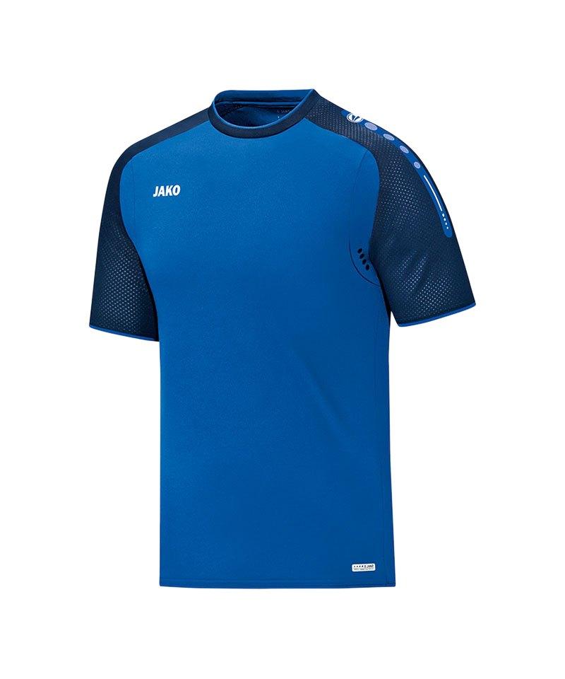 Jako T-Shirt Champ Blau F49 - blau