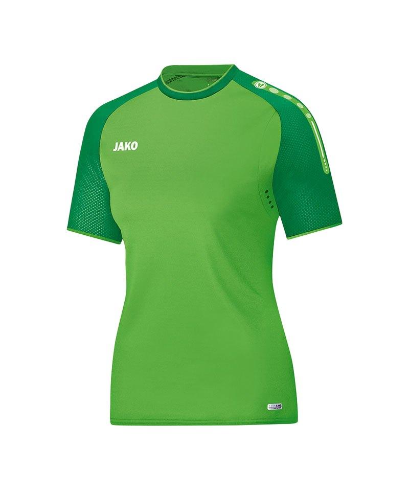 Jako T-Shirt Champ Damen Grün F22 - gruen