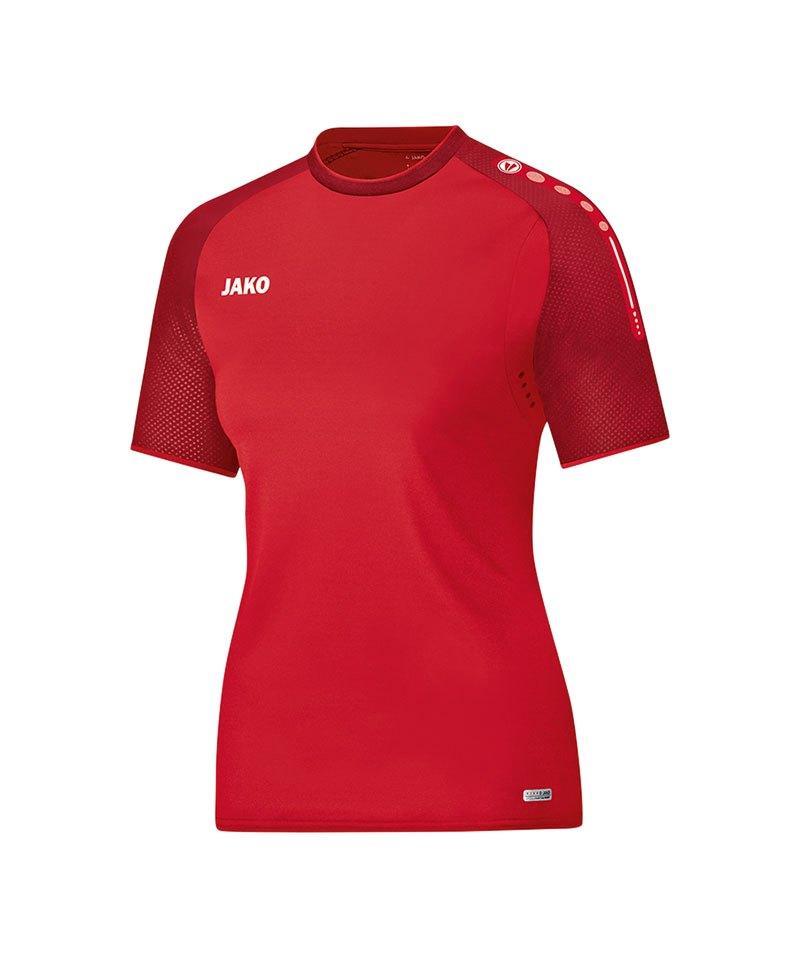 Jako T-Shirt Champ Damen Rot F01 - rot