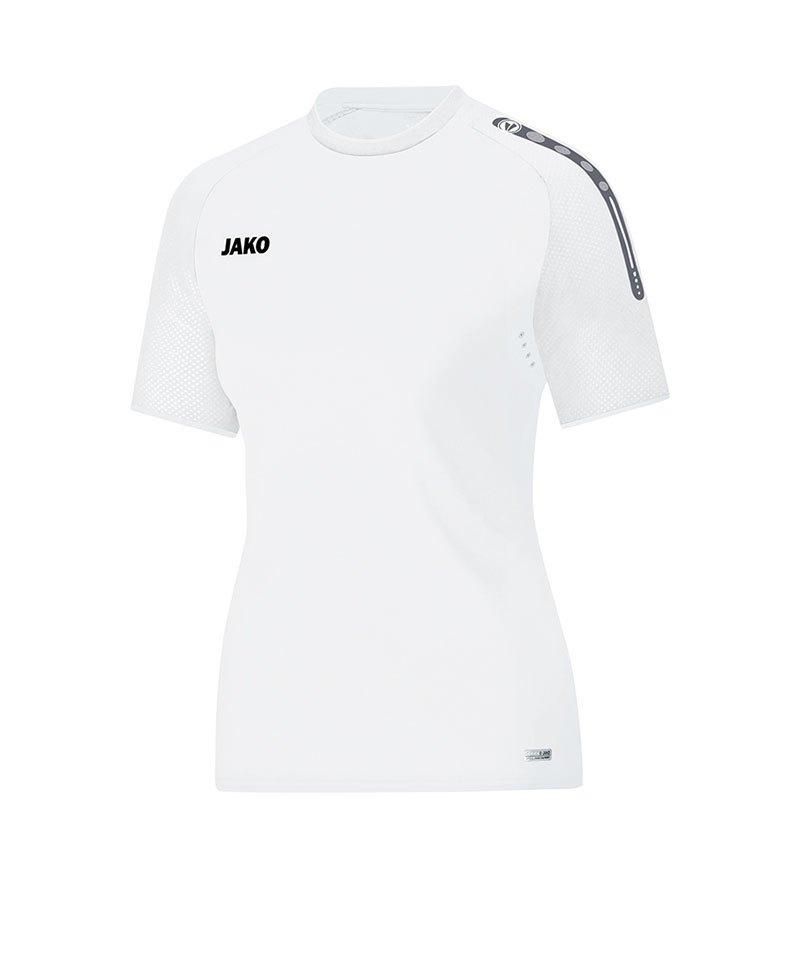 Jako T-Shirt Champ Damen Weiss F00 - weiss