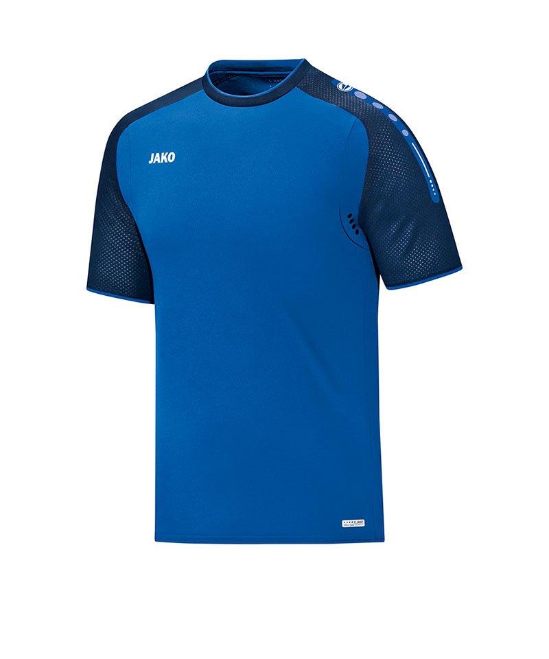 Jako T-Shirt Champ Kinder Blau F49 - blau