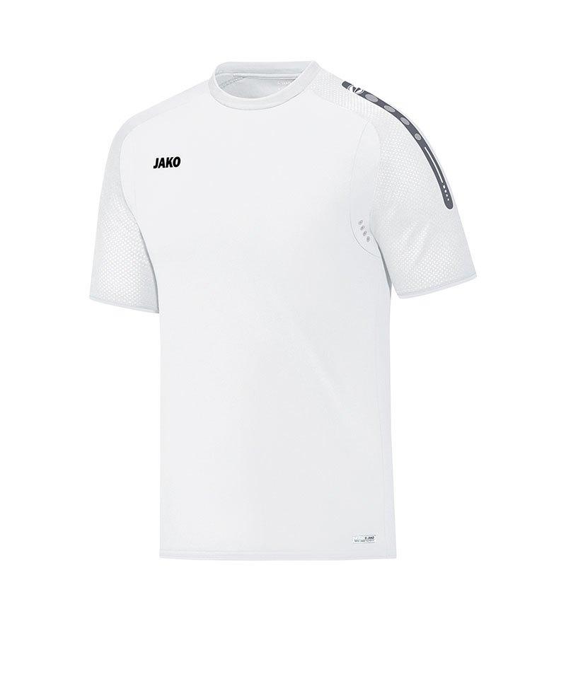 Jako T-Shirt Champ Weiss F00 - weiss