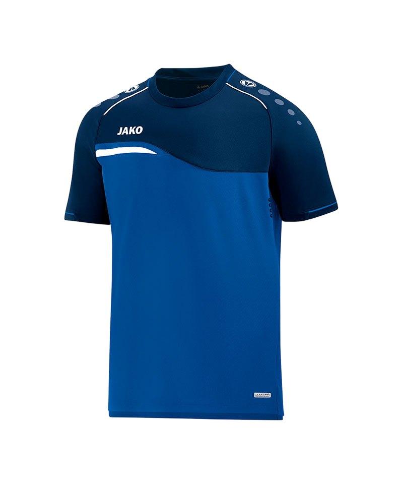 Jako Competition 2.0 T-Shirt Blau F49 - blau