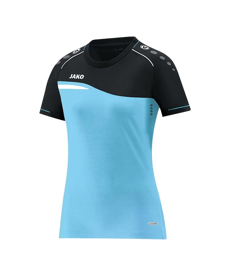 Jako Competition 2.0 T-Shirt Damen Blau F45 - blau
