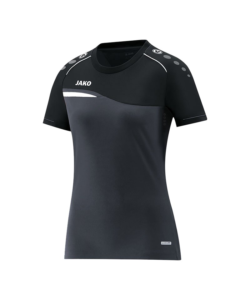 Jako Competition 2.0 T-Shirt Damen Grau F08 - grau