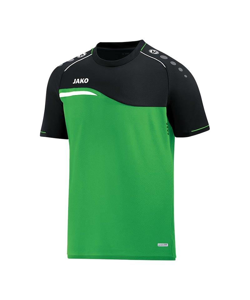 Jako Competition 2.0 T-Shirt Grün Schwarz F22 - gruen
