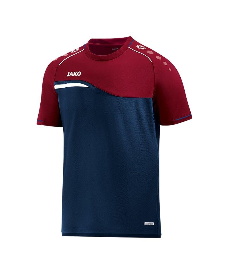 Jako Competition 2.0 T-Shirt Kids Blau Rot F09 - blau
