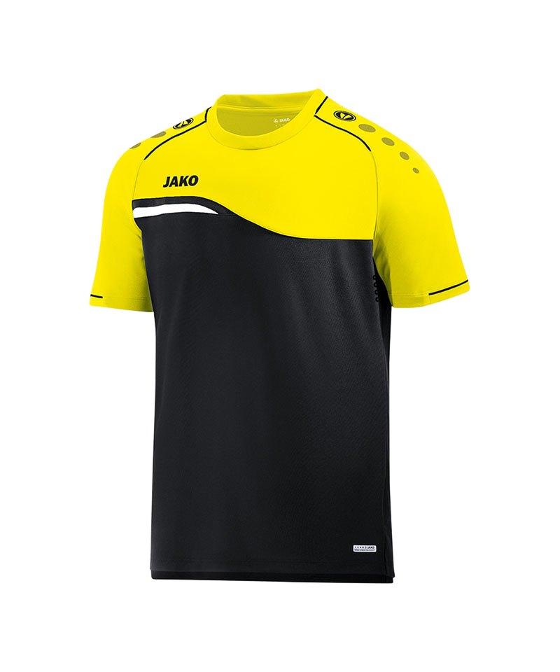 Jako Competition 2.0 T-Shirt Kids Schwarz F03 - schwarz