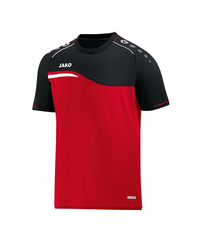 Jako Competition 2.0 T-Shirt Rot Schwarz F01 - rot