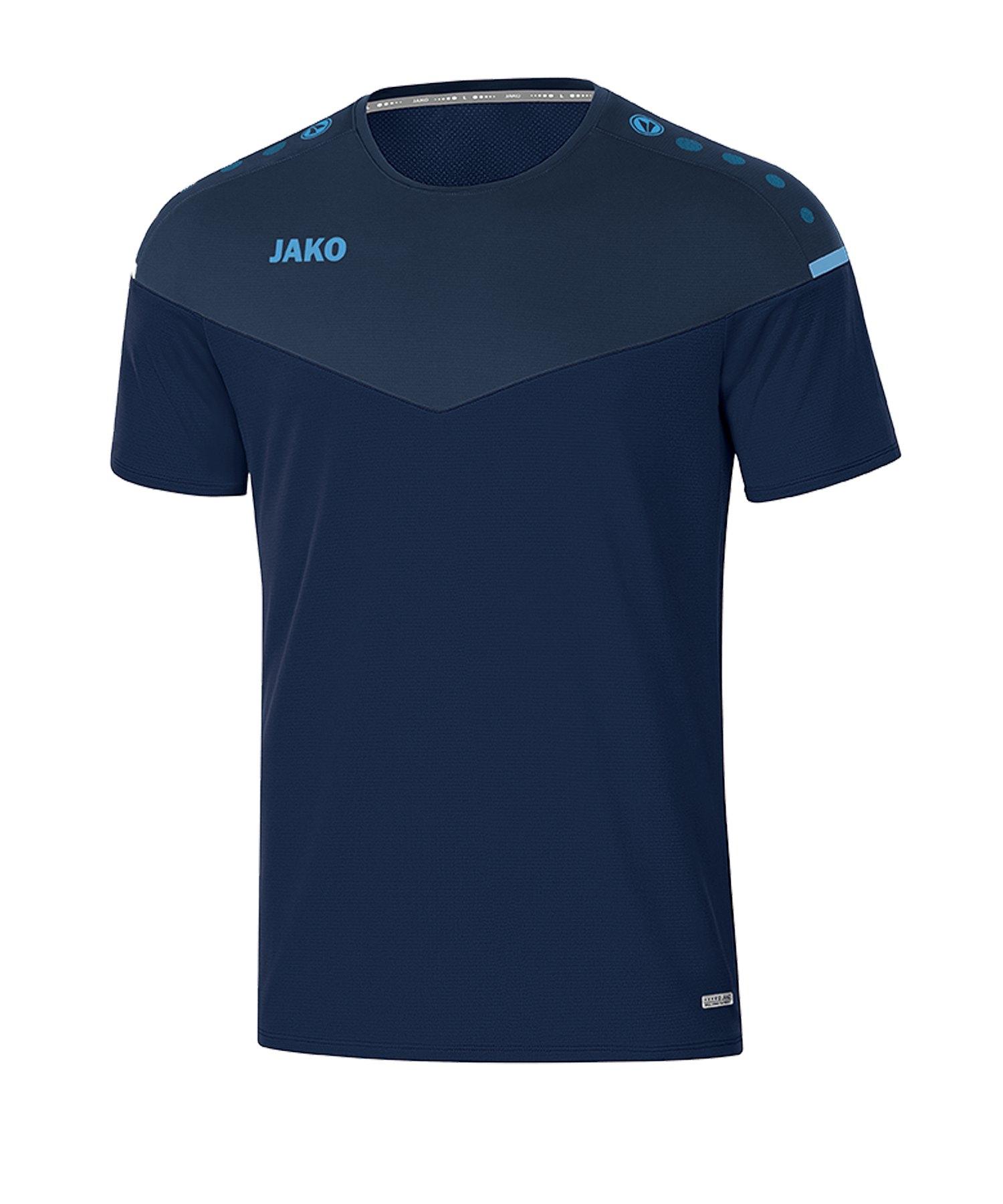 Jako Champ 2.0 T-Shirt Blau F95 - blau