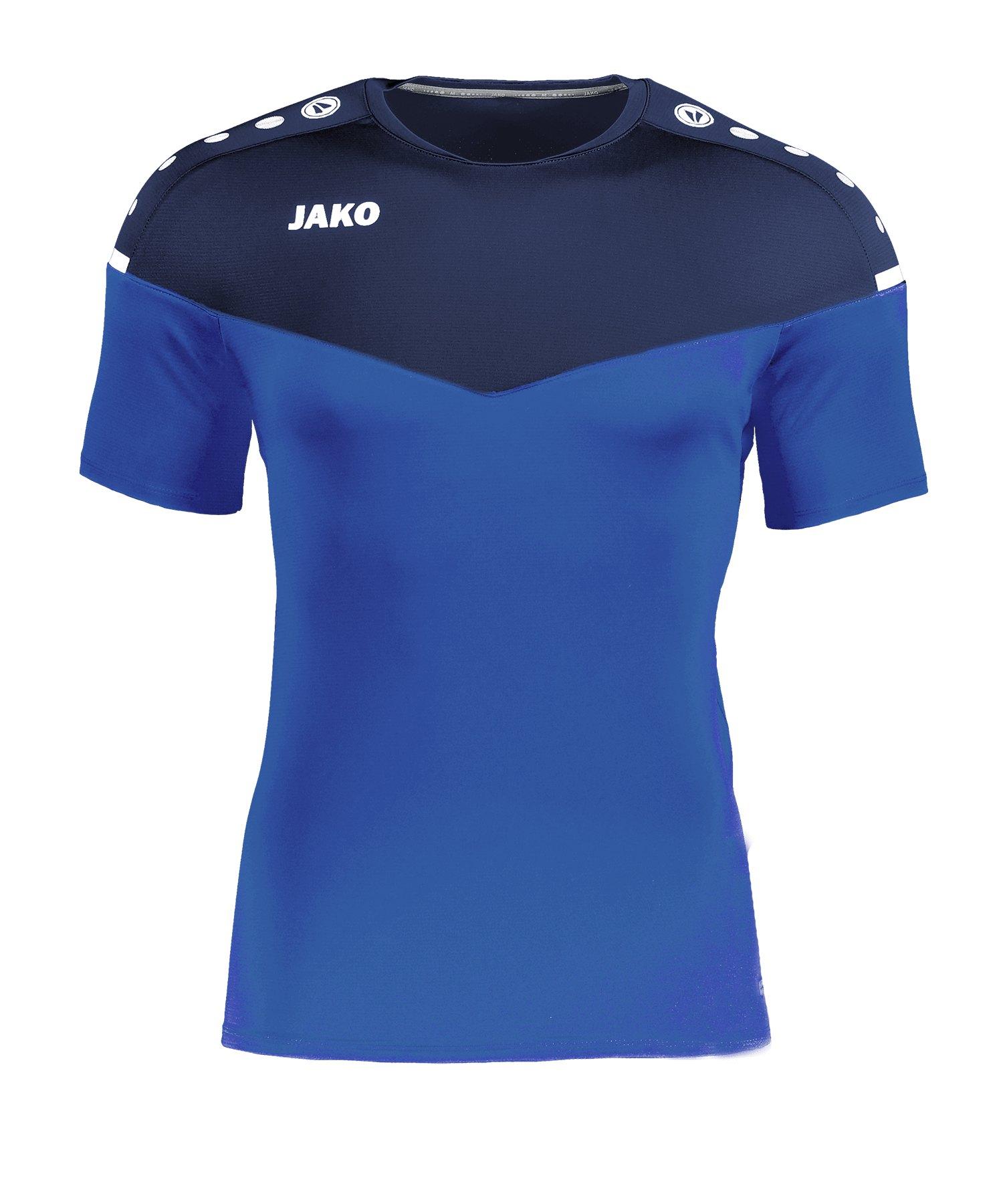 Jako Champ 2.0 T-Shirt Damen Blau F49 - blau