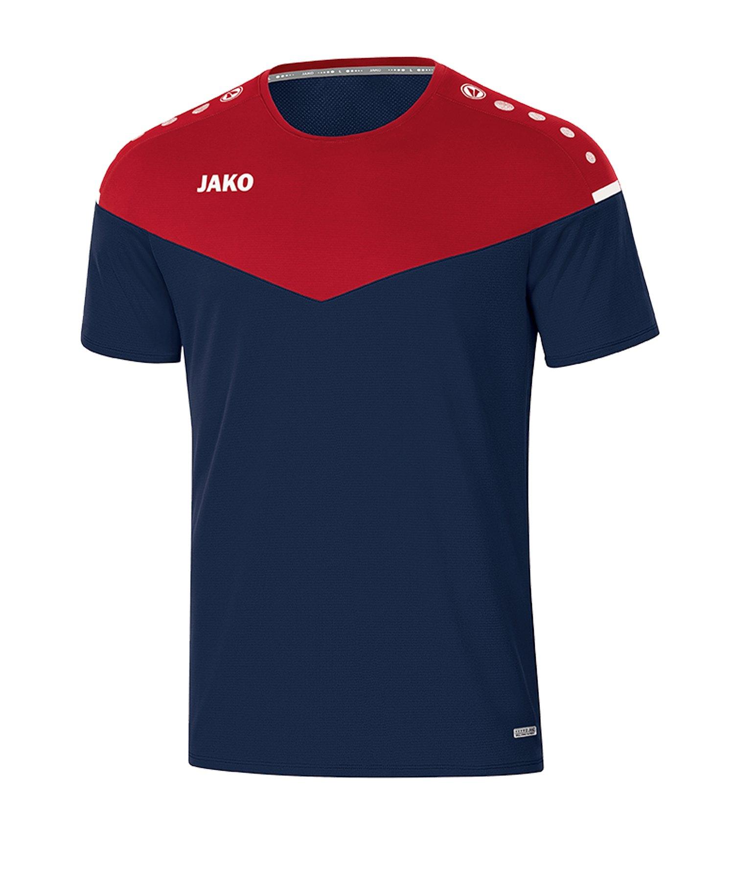 Jako Champ 2.0 T-Shirt Damen Blau F91 - blau