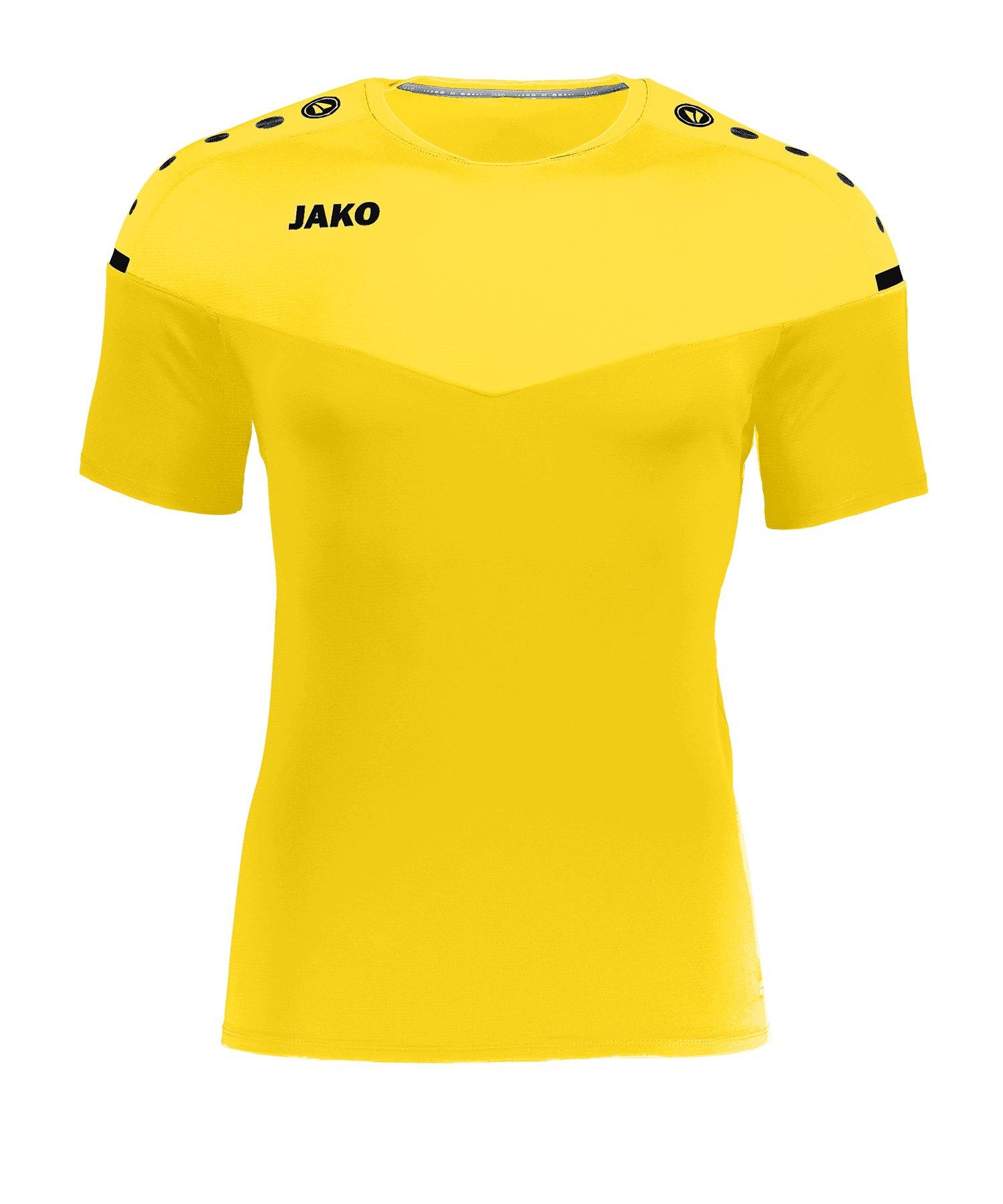 Jako Champ 2.0 T-Shirt Damen Gelb F03 - gelb