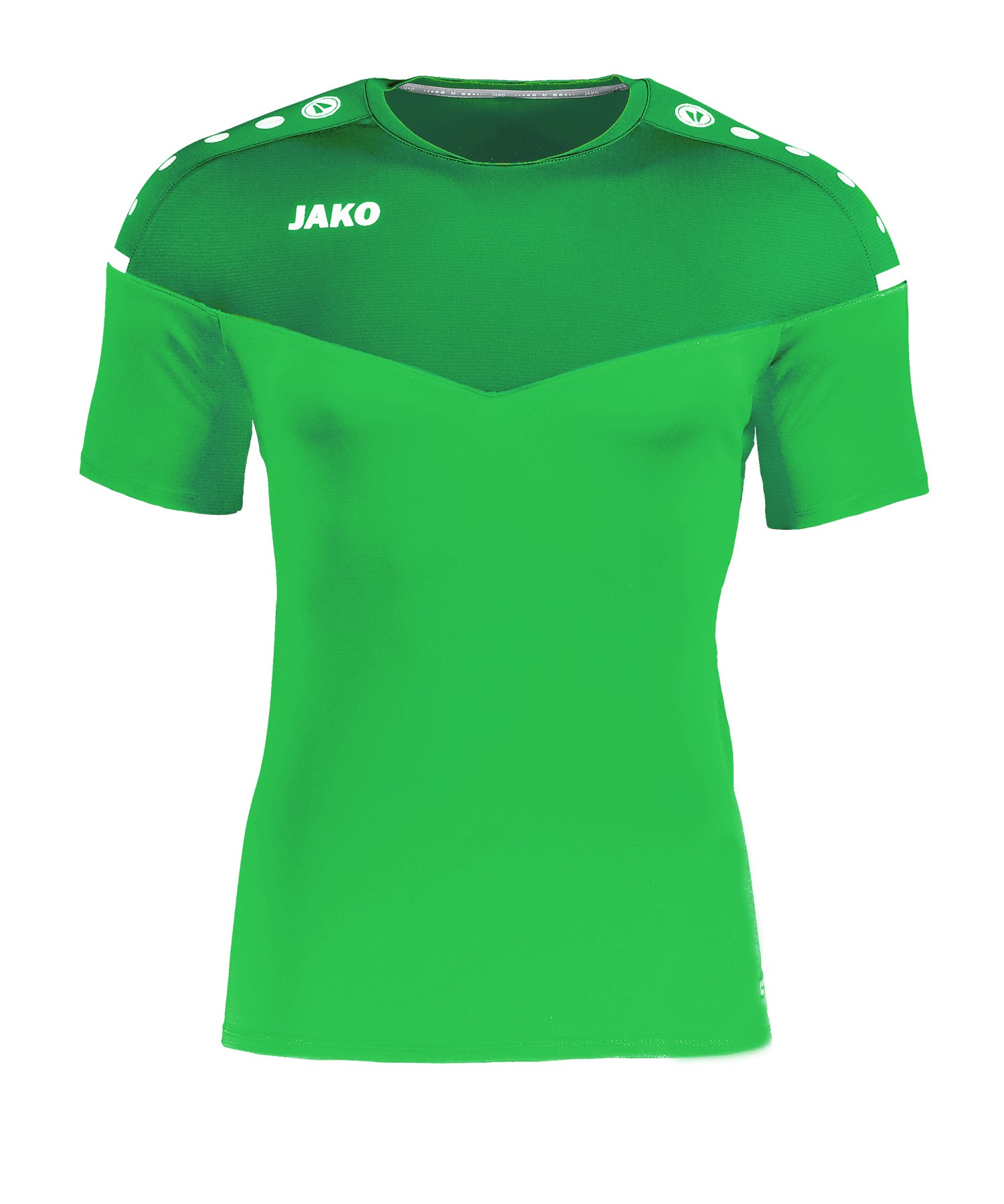 Jako Champ 2.0 T-Shirt Damen Grün F22 - Gruen