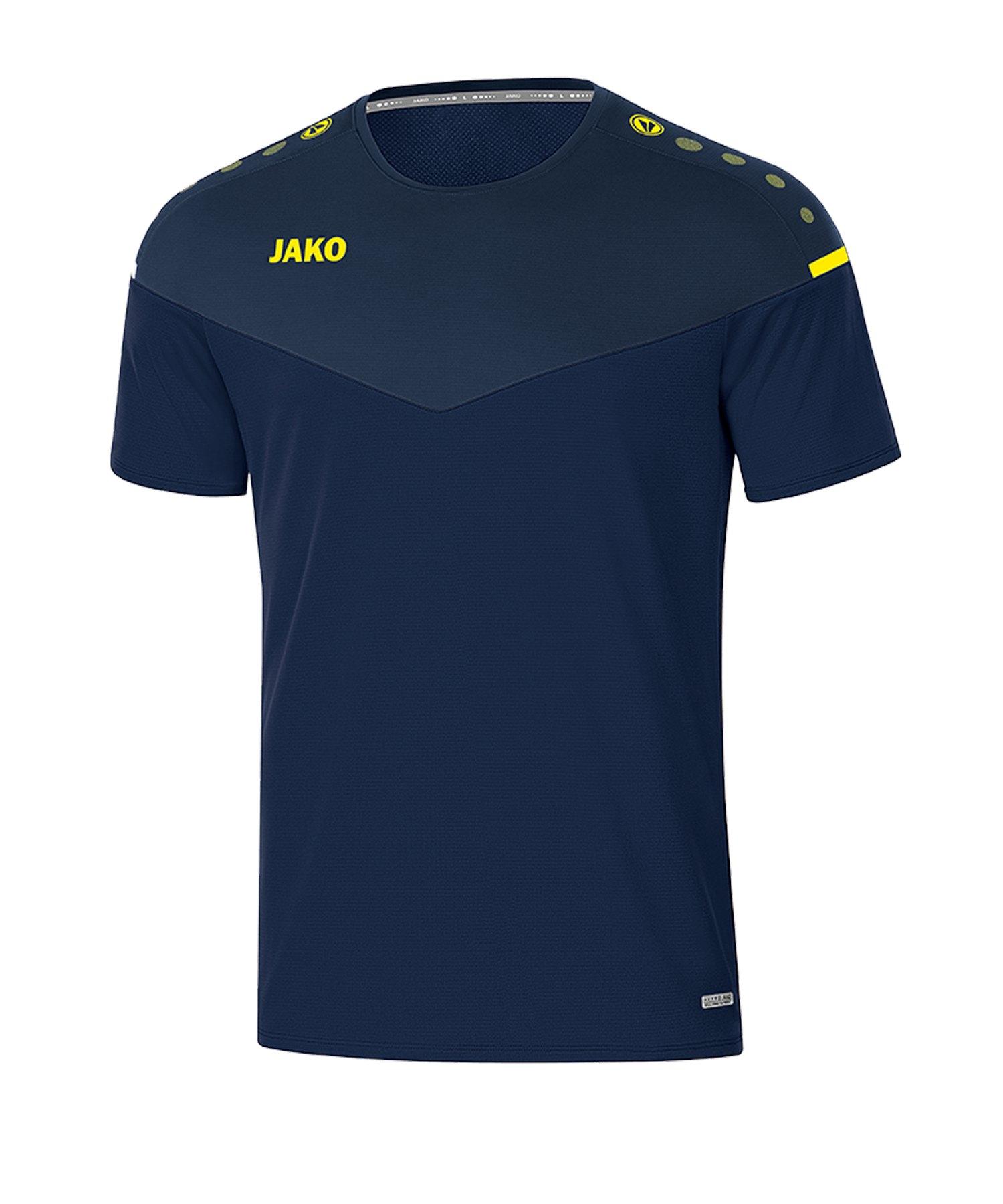 Jako Champ 2.0 T-Shirt Kids Blau F93 - blau